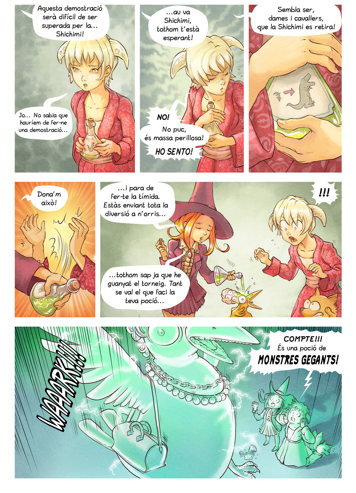 A webcomic page of Pepper&Carrot, episodi 6 [ca], pàgina 6