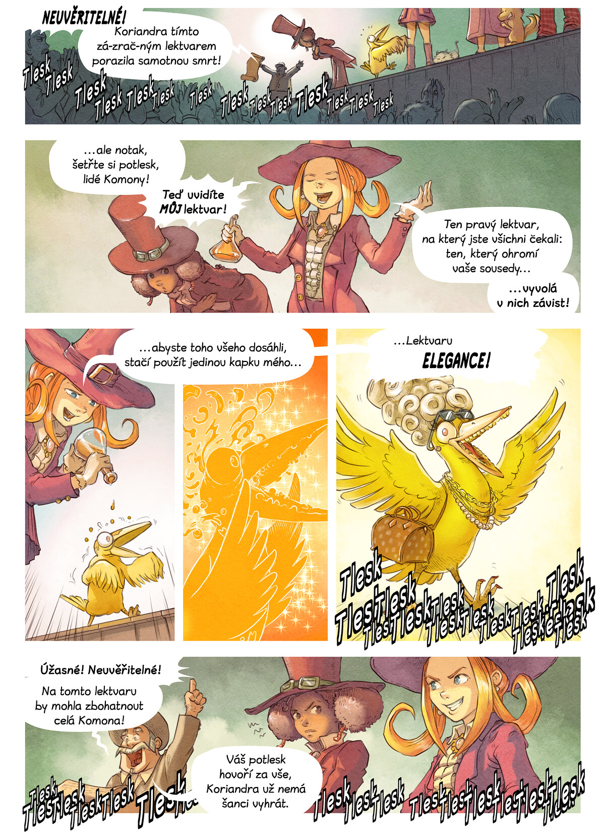 A webcomic page of Pepper&Carrot, epizoda 6 [cs], strana 5