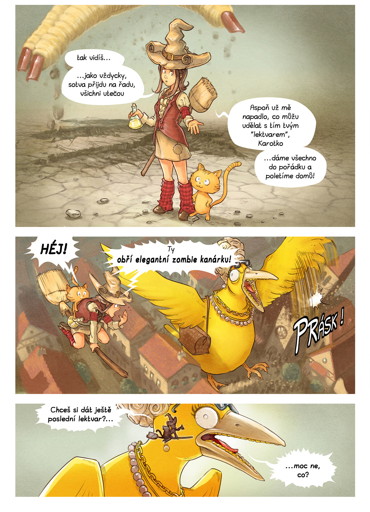 A webcomic page of Pepper&Carrot, epizoda 6 [cs], strana 8