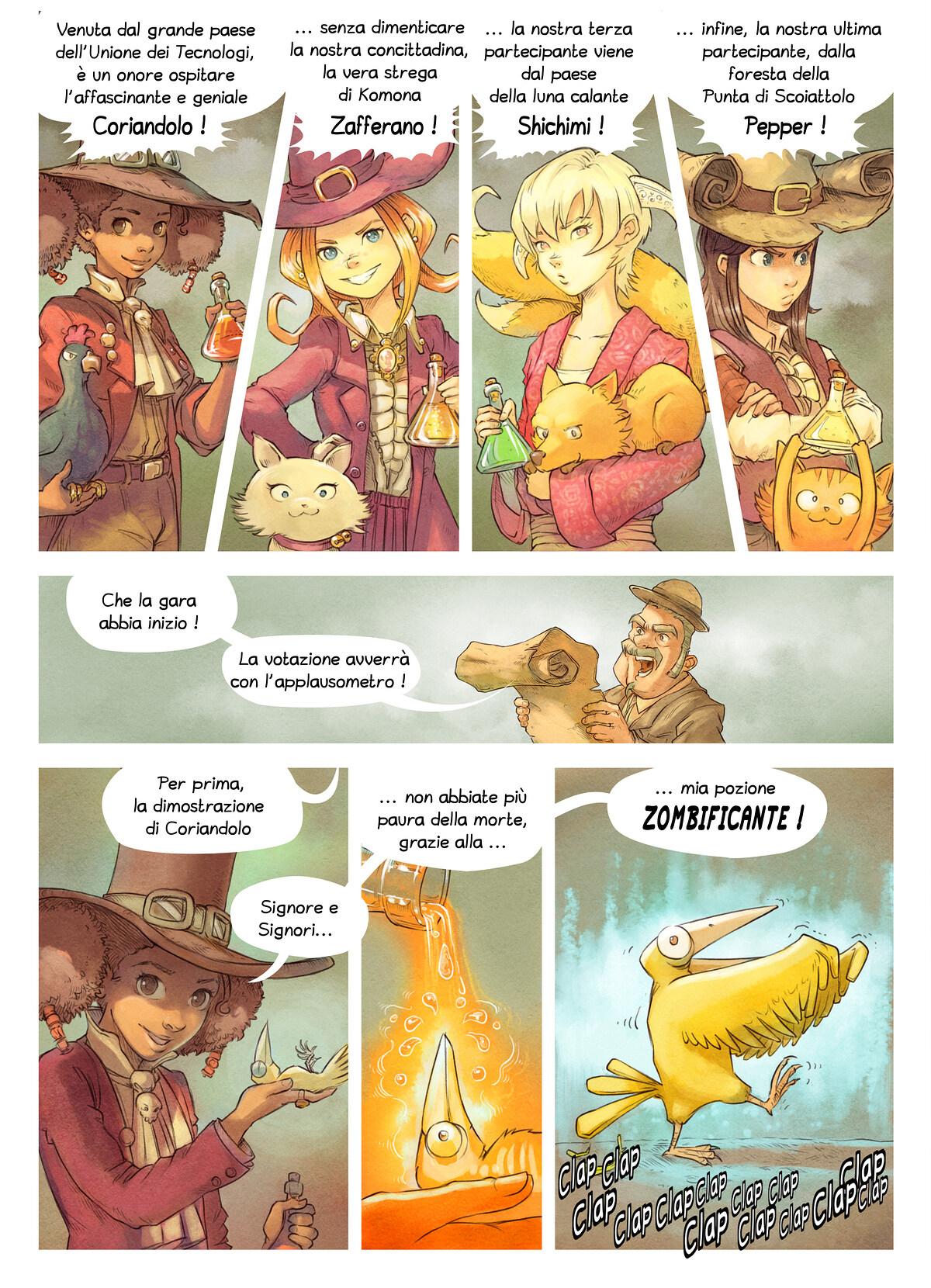 Episodio 6: La Gara delle Pozioni, Page 4