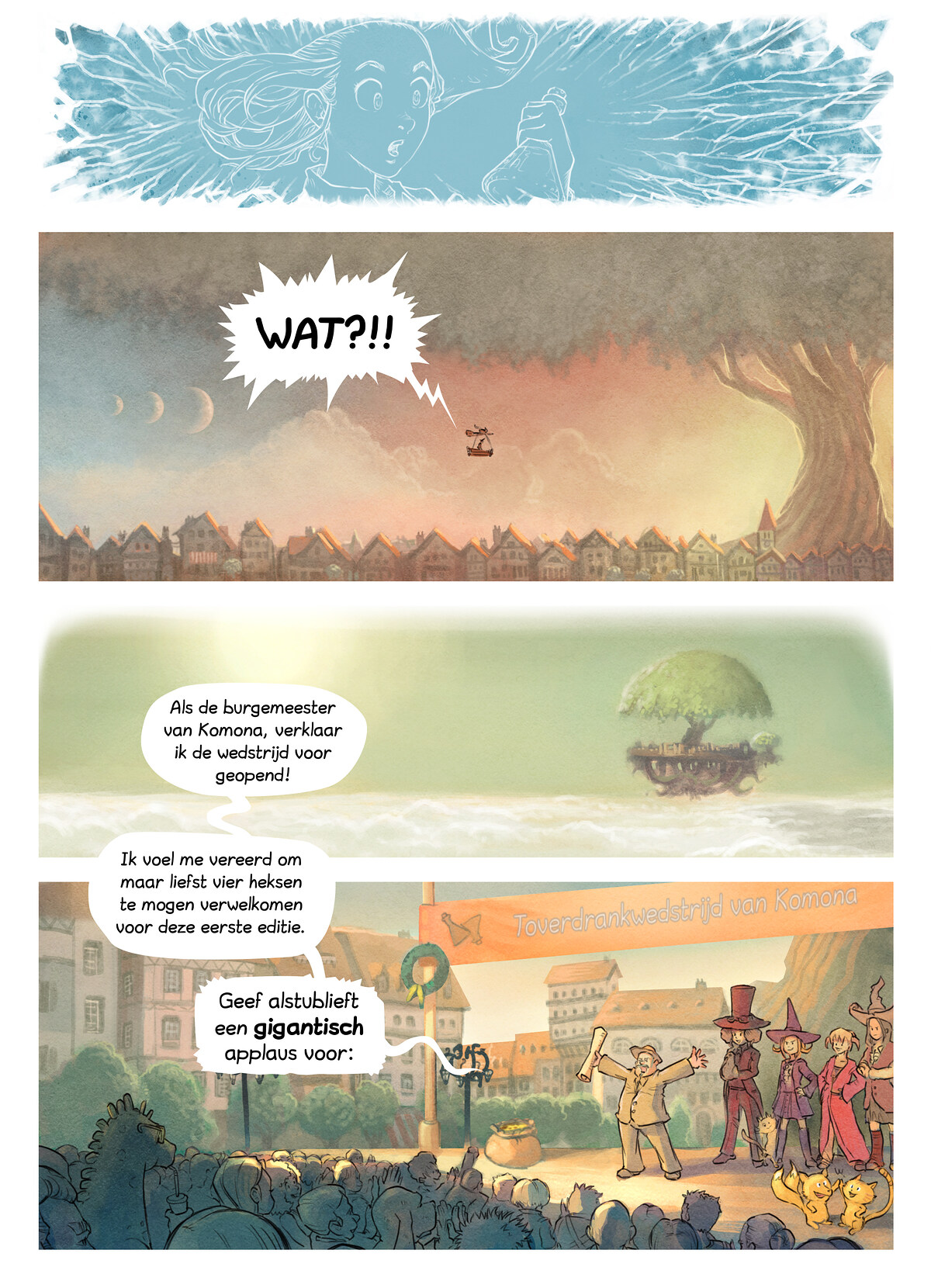 A webcomic page of Pepper&Carrot, aflevering 6 [nl], pagina 3