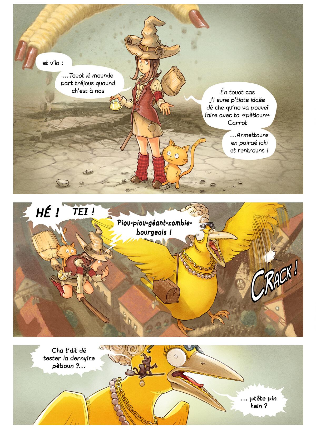 Histouère 6 : Lé concous dé pètioun, Page 8