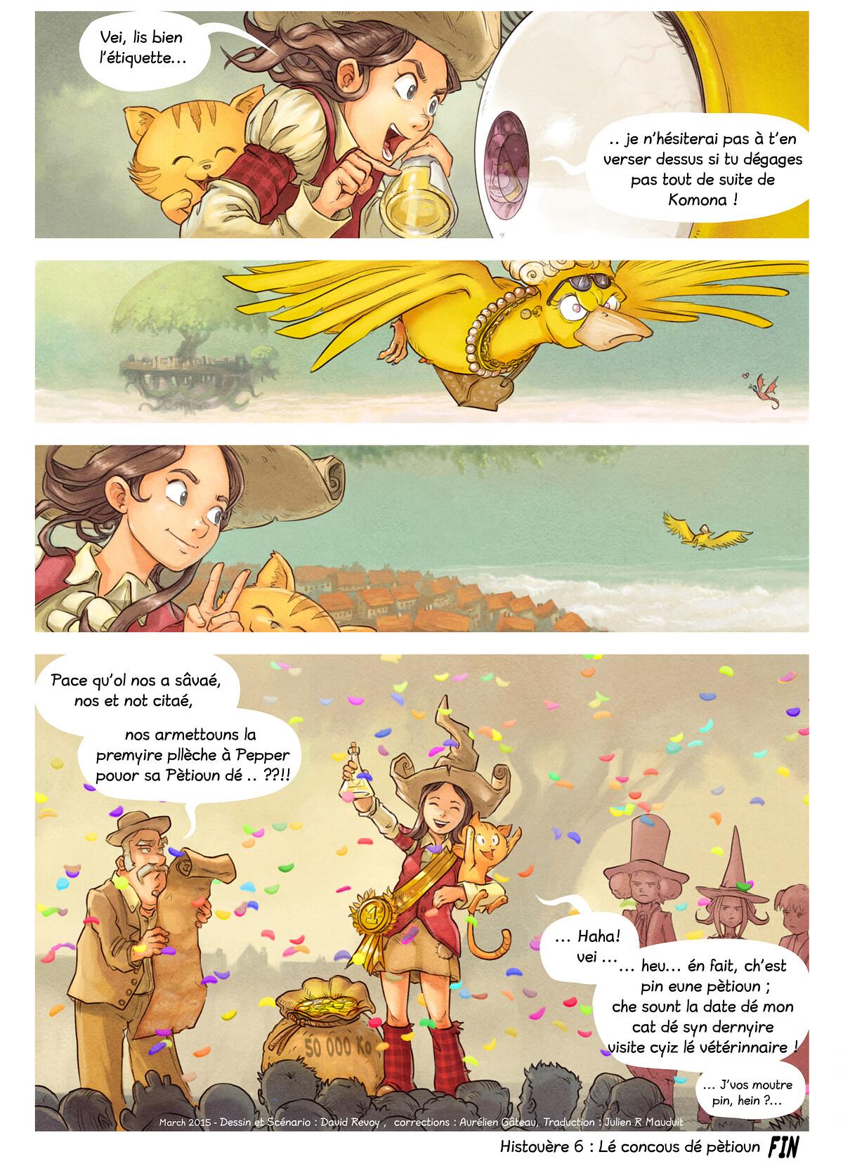 Histouère 6 : Lé concous dé pètioun, Page 9