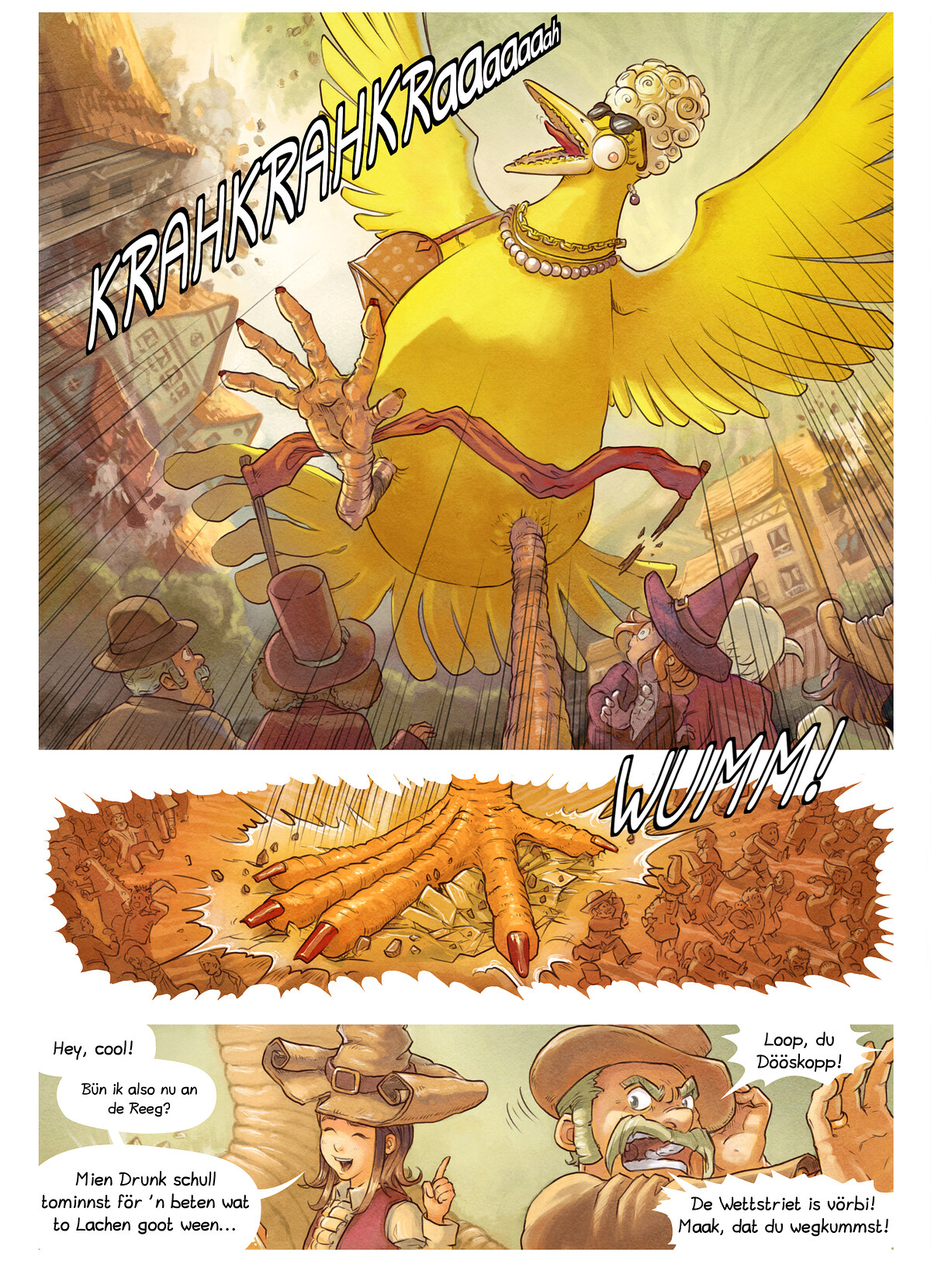 A webcomic page of Pepper&Carrot, Folg 6 [ns], Siet 7
