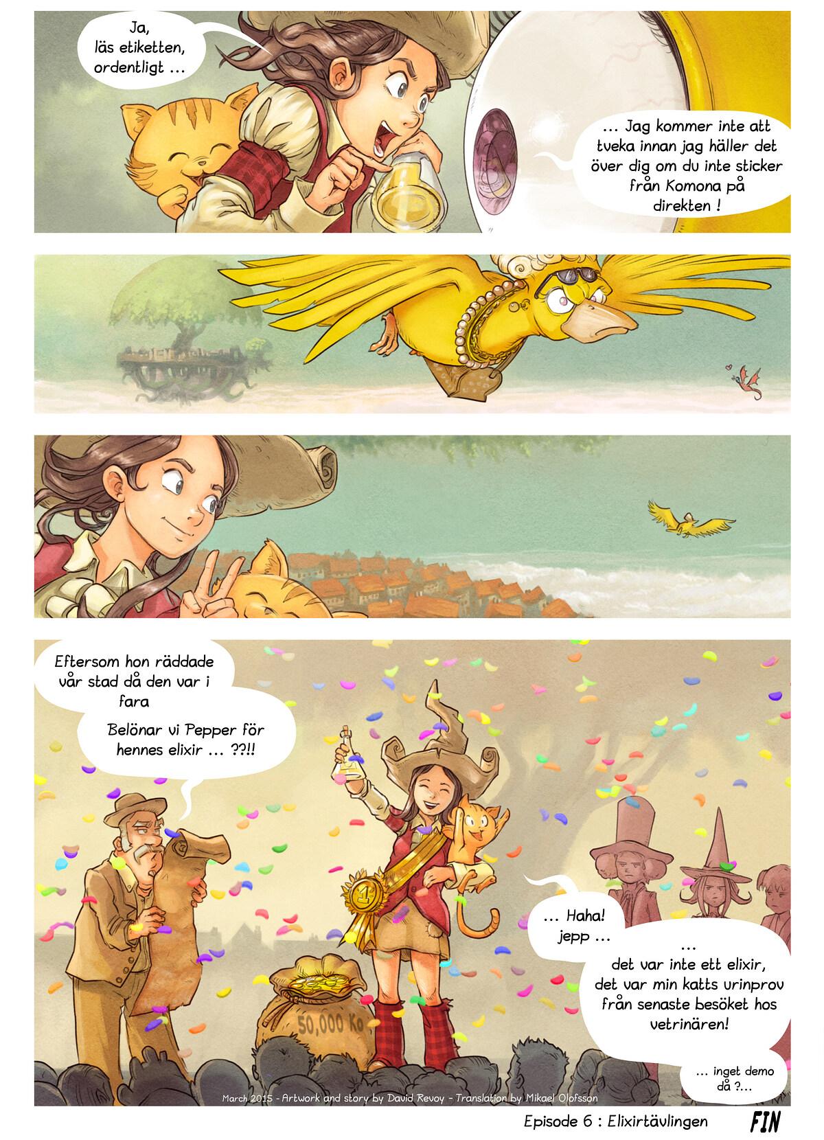 Episode 6: Elixrtävlingen, Page 9