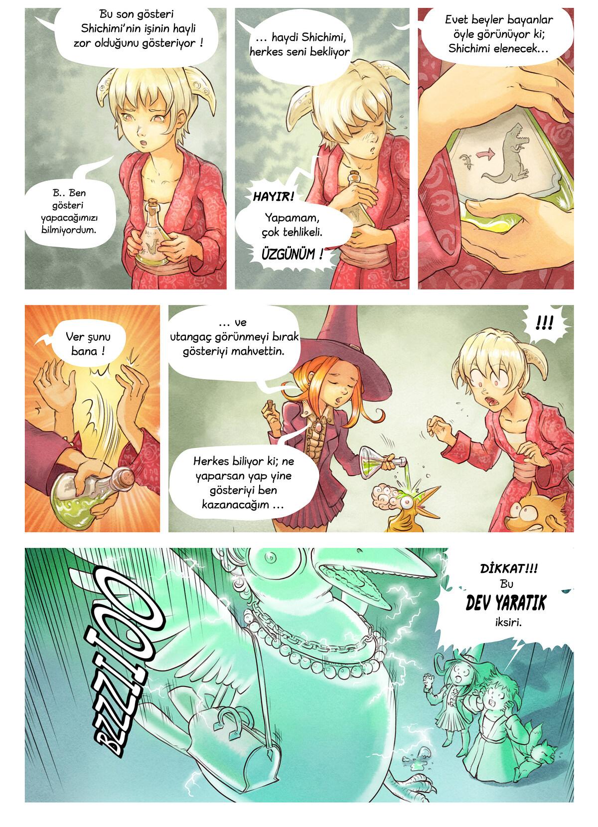 6. Bölüm: İksir Yarışması, Page 6