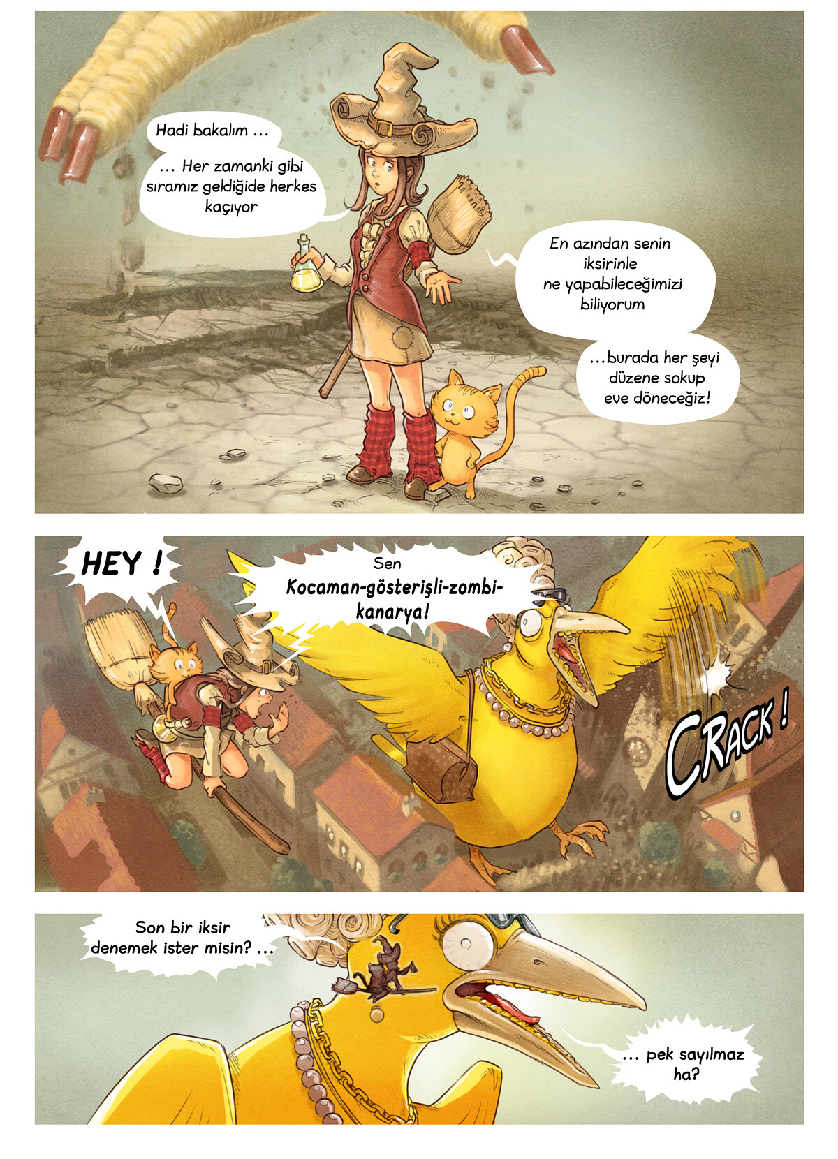 6. Bölüm: İksir Yarışması, Page 8