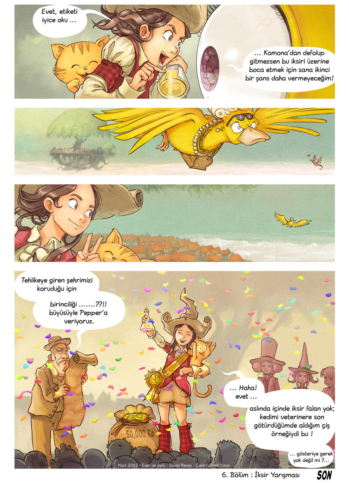 6. Bölüm: İksir Yarışması, Page 9