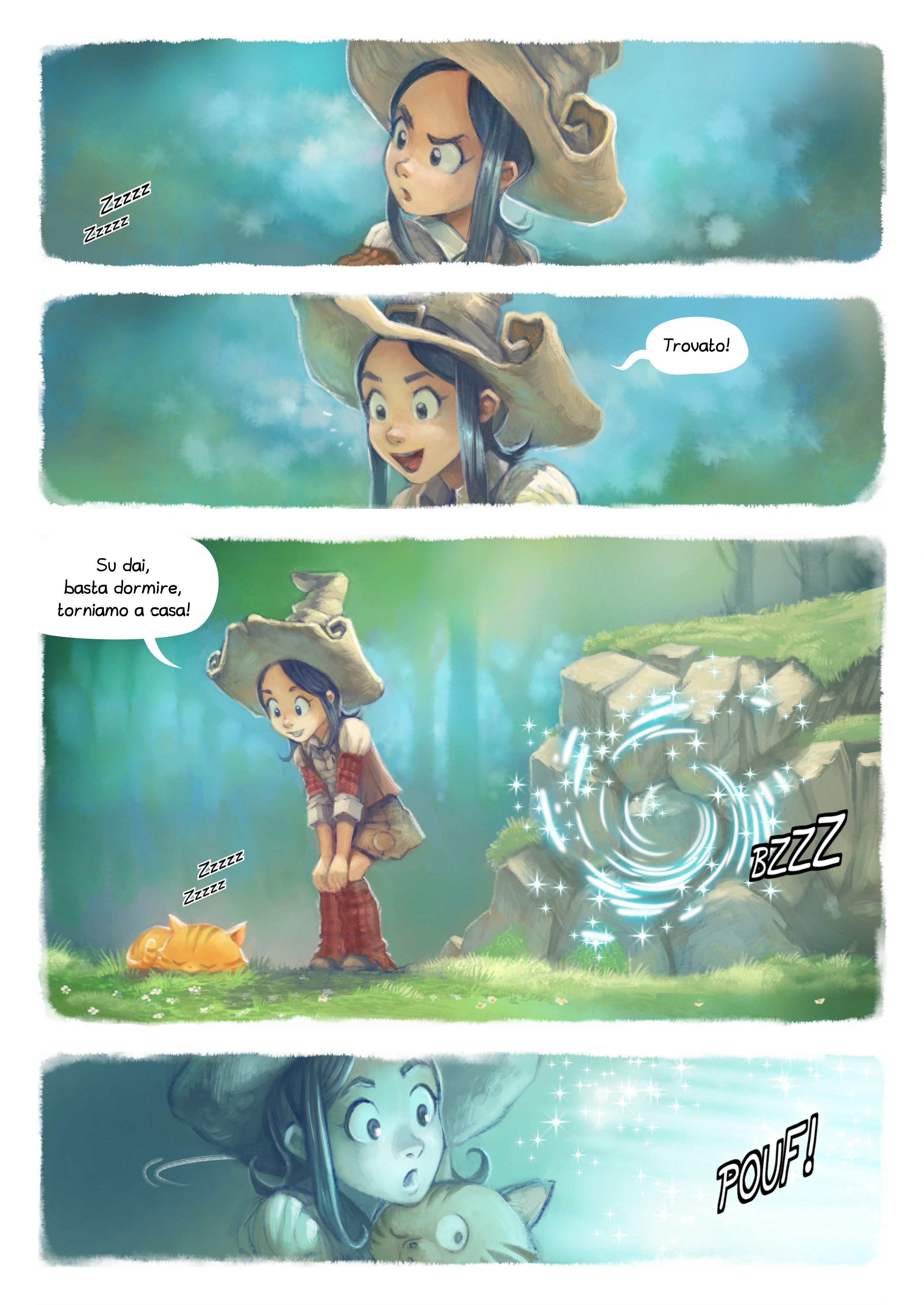 A webcomic page of Pepper&Carrot, episodio 7 [it], pagina 2