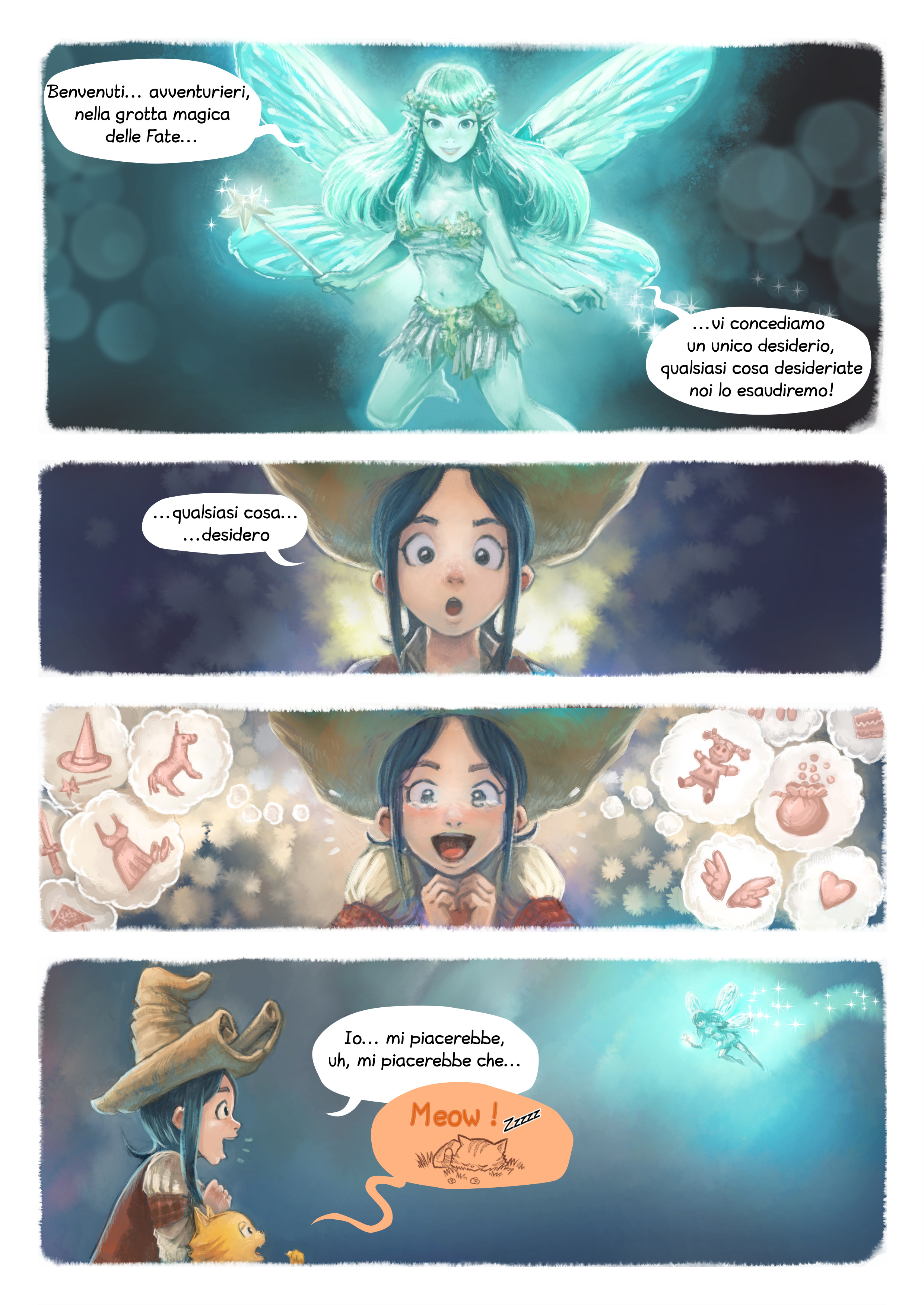 A webcomic page of Pepper&Carrot, episodio 7 [it], pagina 4