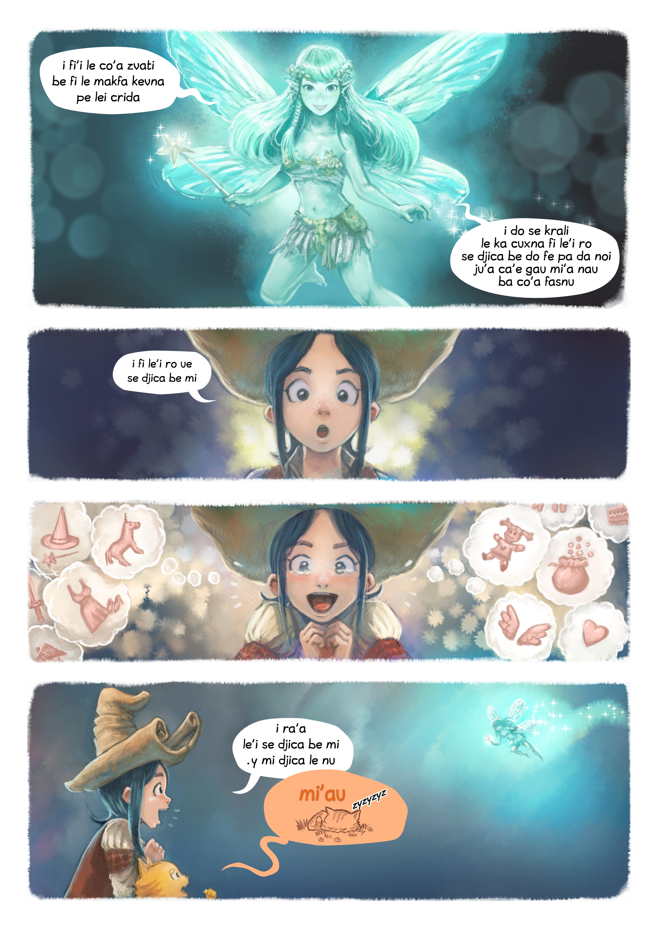 i 7 mo'o lisri le se djica, Page 4