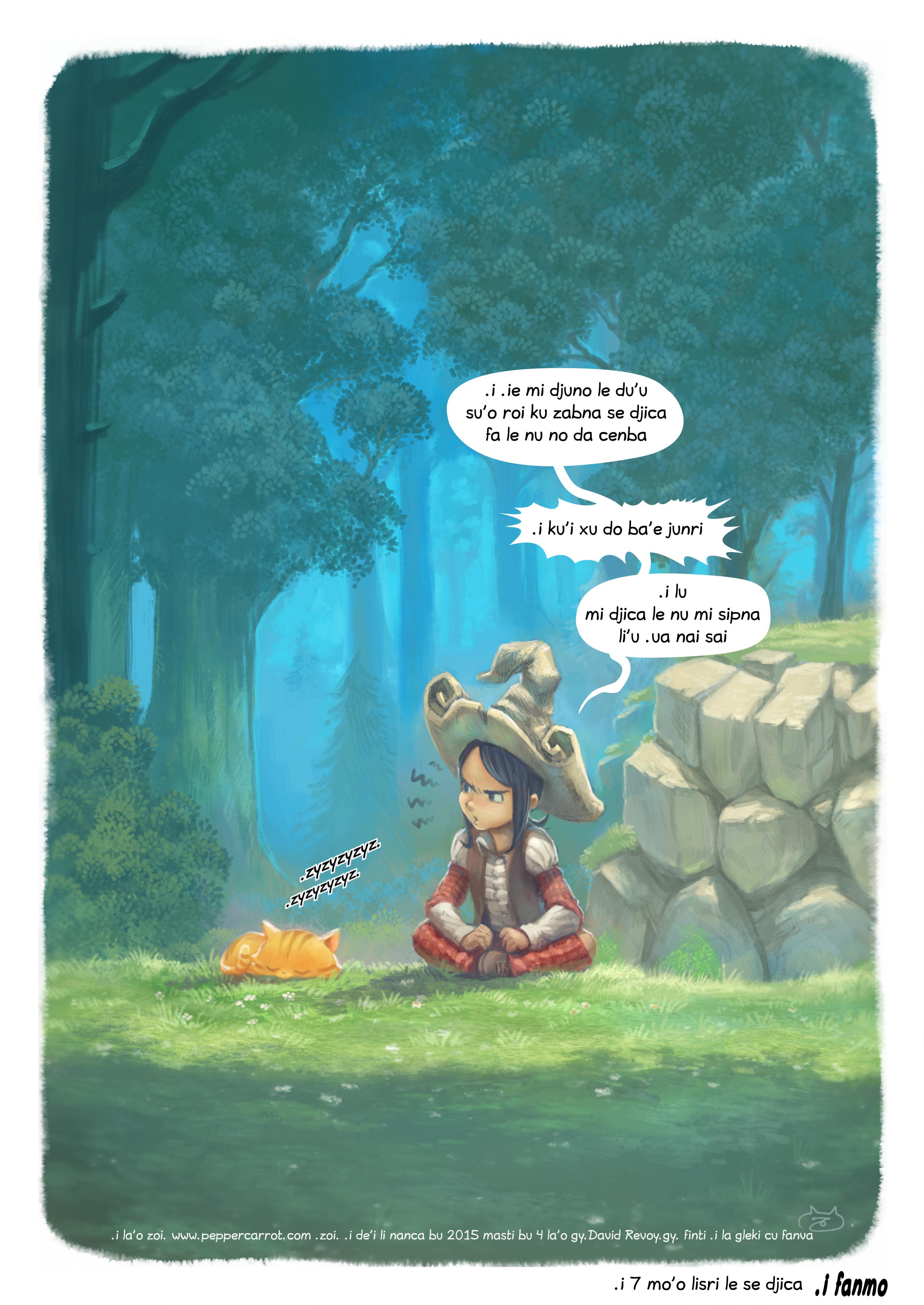 i 7 mo'o lisri le se djica, Page 5