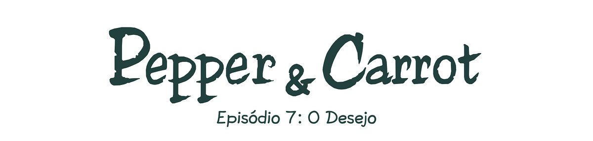 A webcomic page of Pepper&Carrot, episódio 7 [pt], página 0