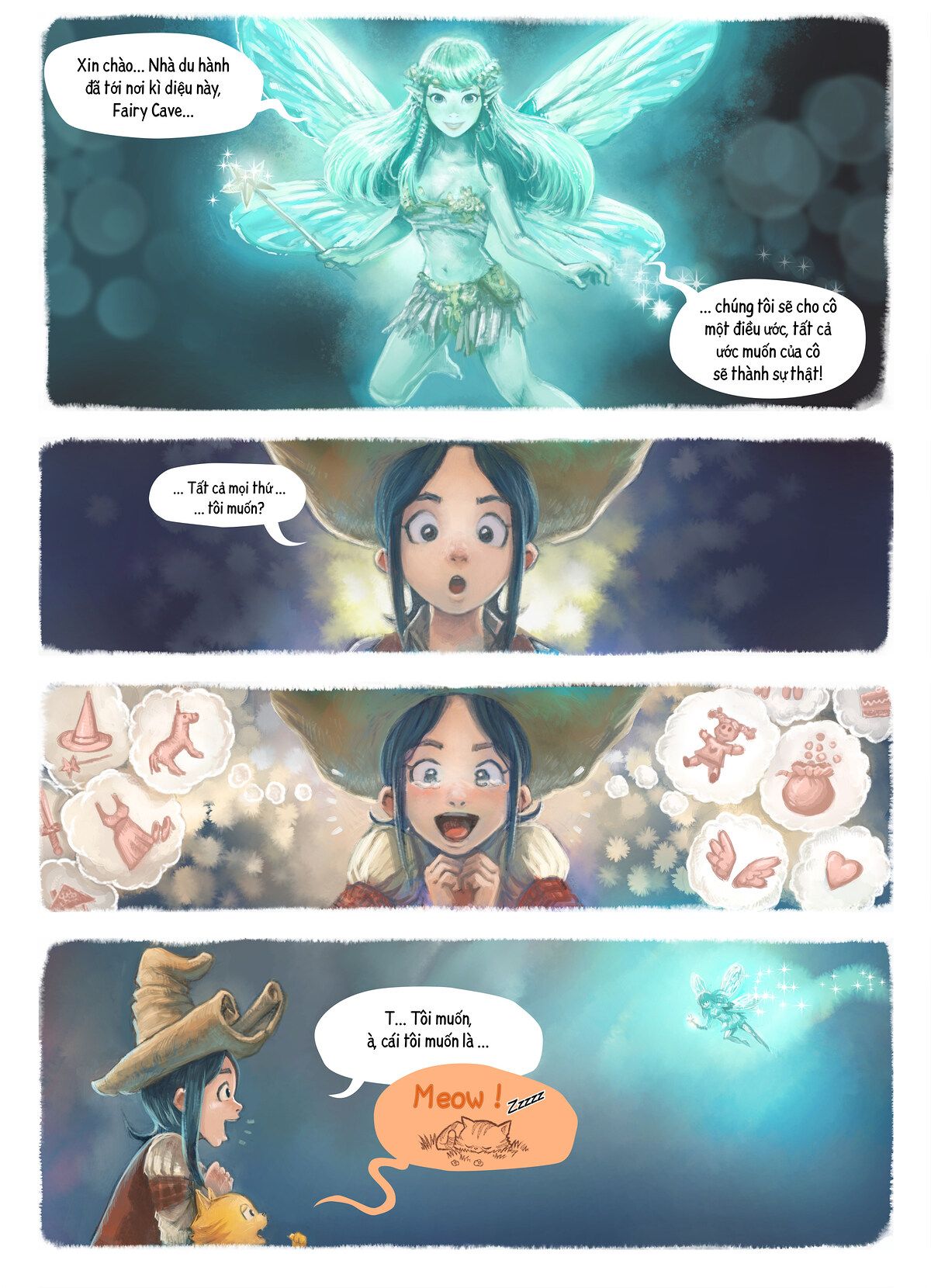 A webcomic page of Pepper&Carrot, Tập 7 [vi], trang 4