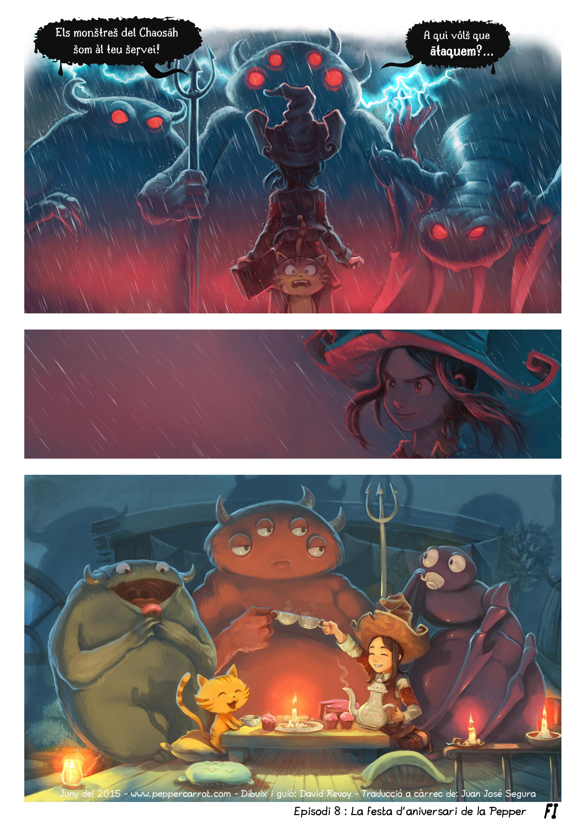 A webcomic page of Pepper&Carrot, episodi 8 [ca], pàgina 6