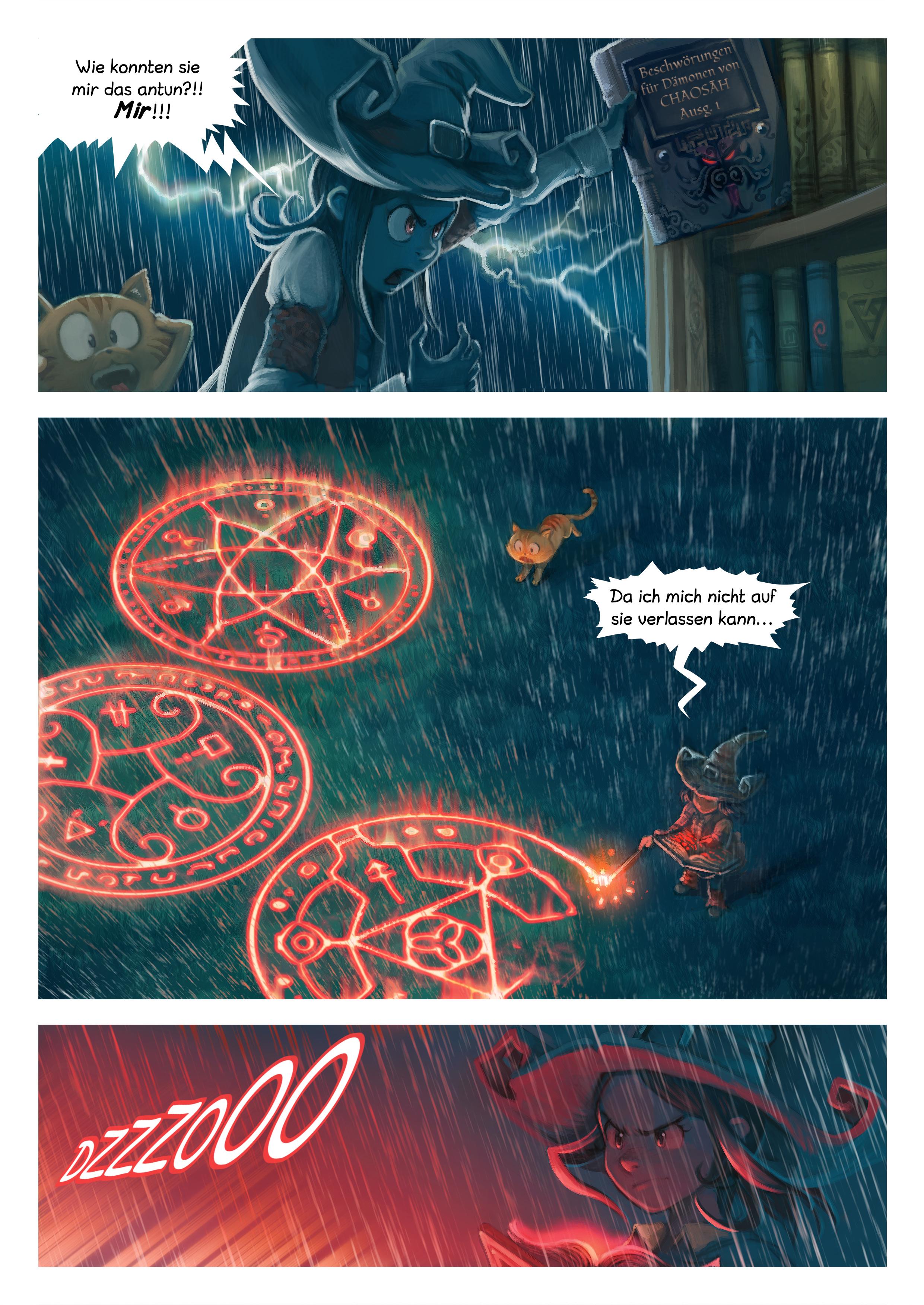 A webcomic page of Pepper&Carrot, Episode 8 [de], Seite 5