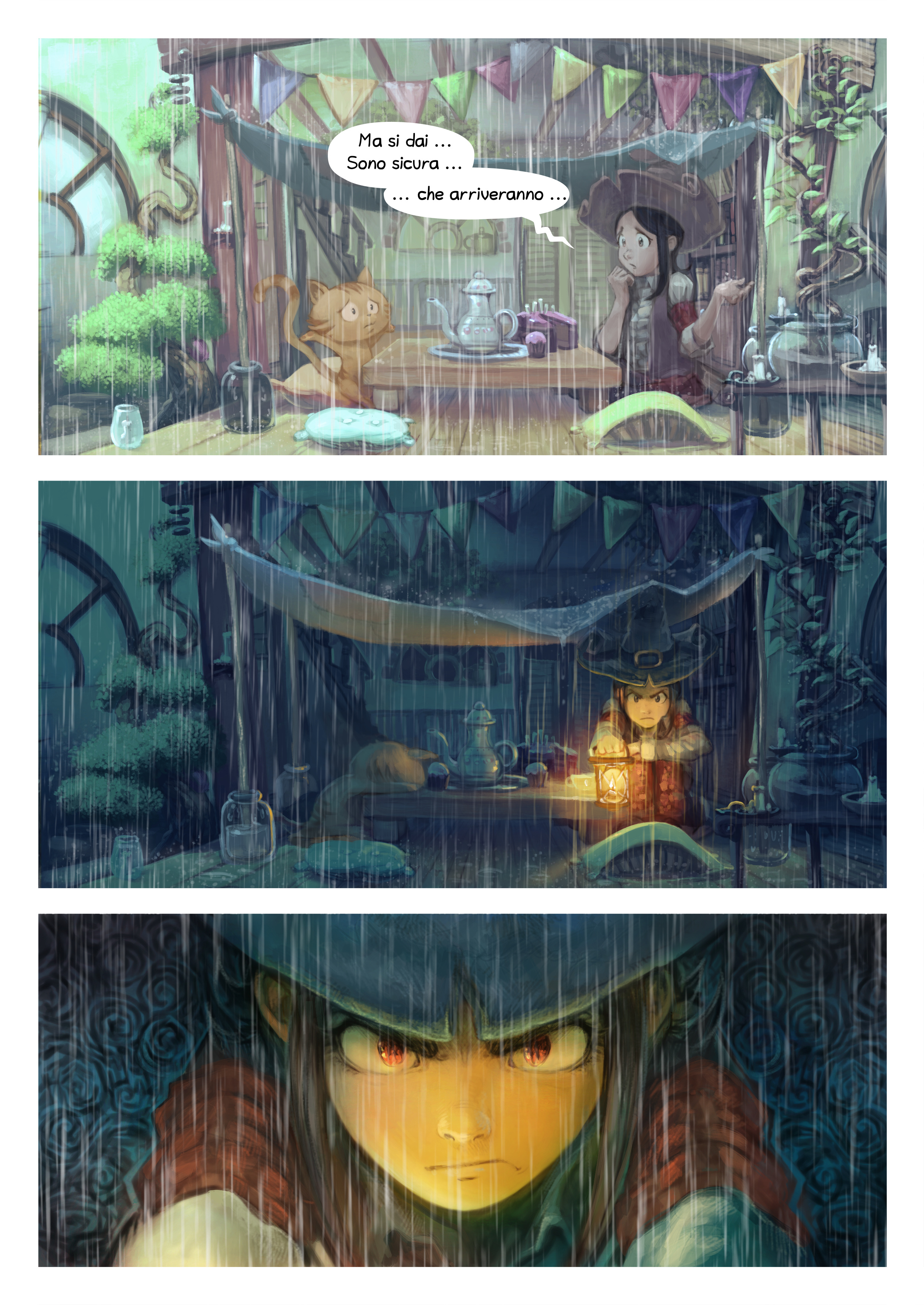A webcomic page of Pepper&Carrot, episodio 8 [it], pagina 4