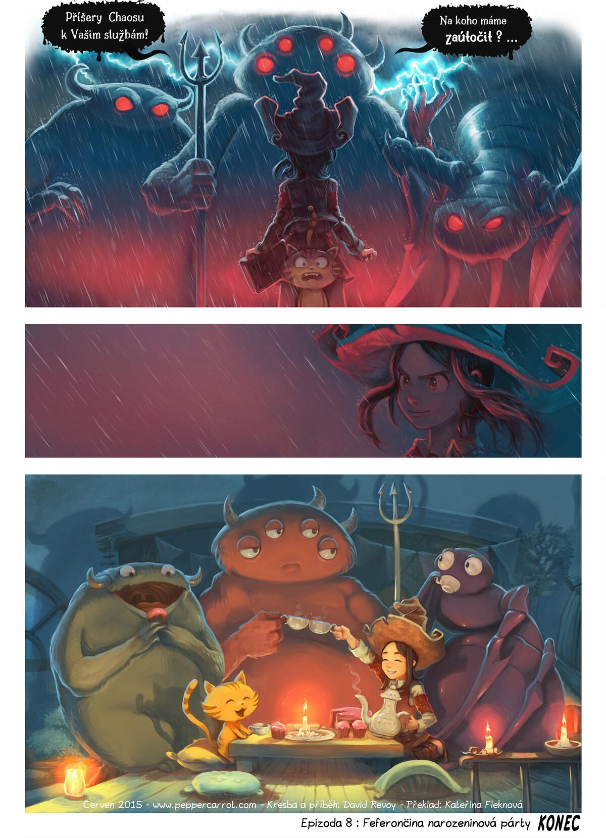 8. díl: Feferončina narozeninová párty, Page 6