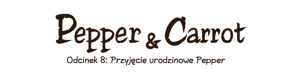 A webcomic page of Pepper&Carrot, odcinek 8 [pl], strona 0