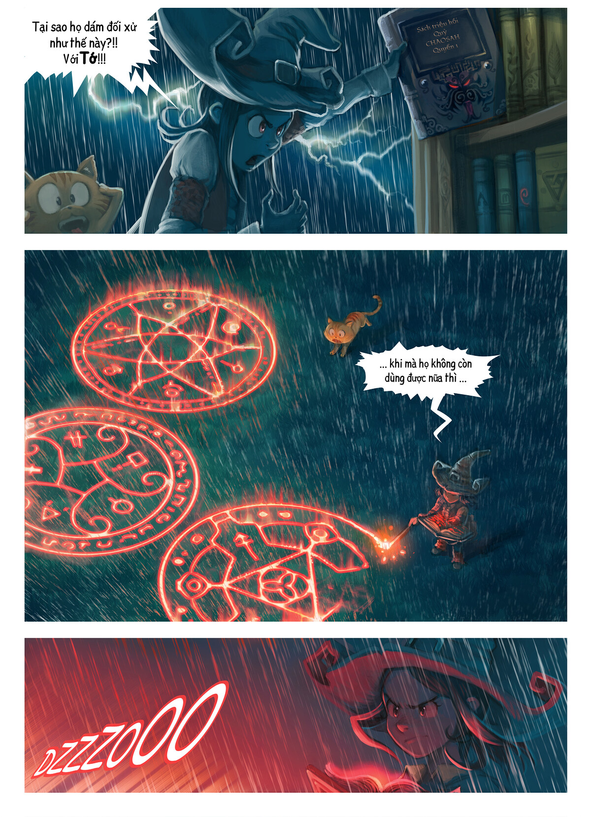 A webcomic page of Pepper&Carrot, Tập 8 [vi], trang 5