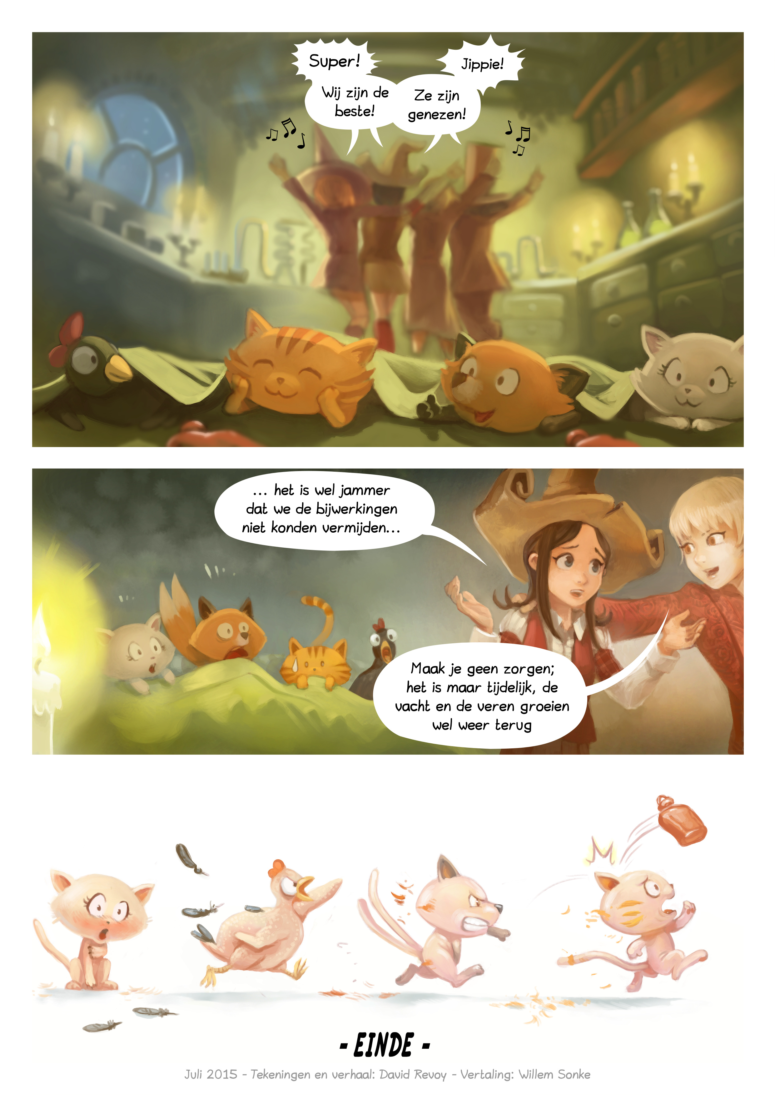A webcomic page of Pepper&Carrot, aflevering 9 [nl], pagina 7