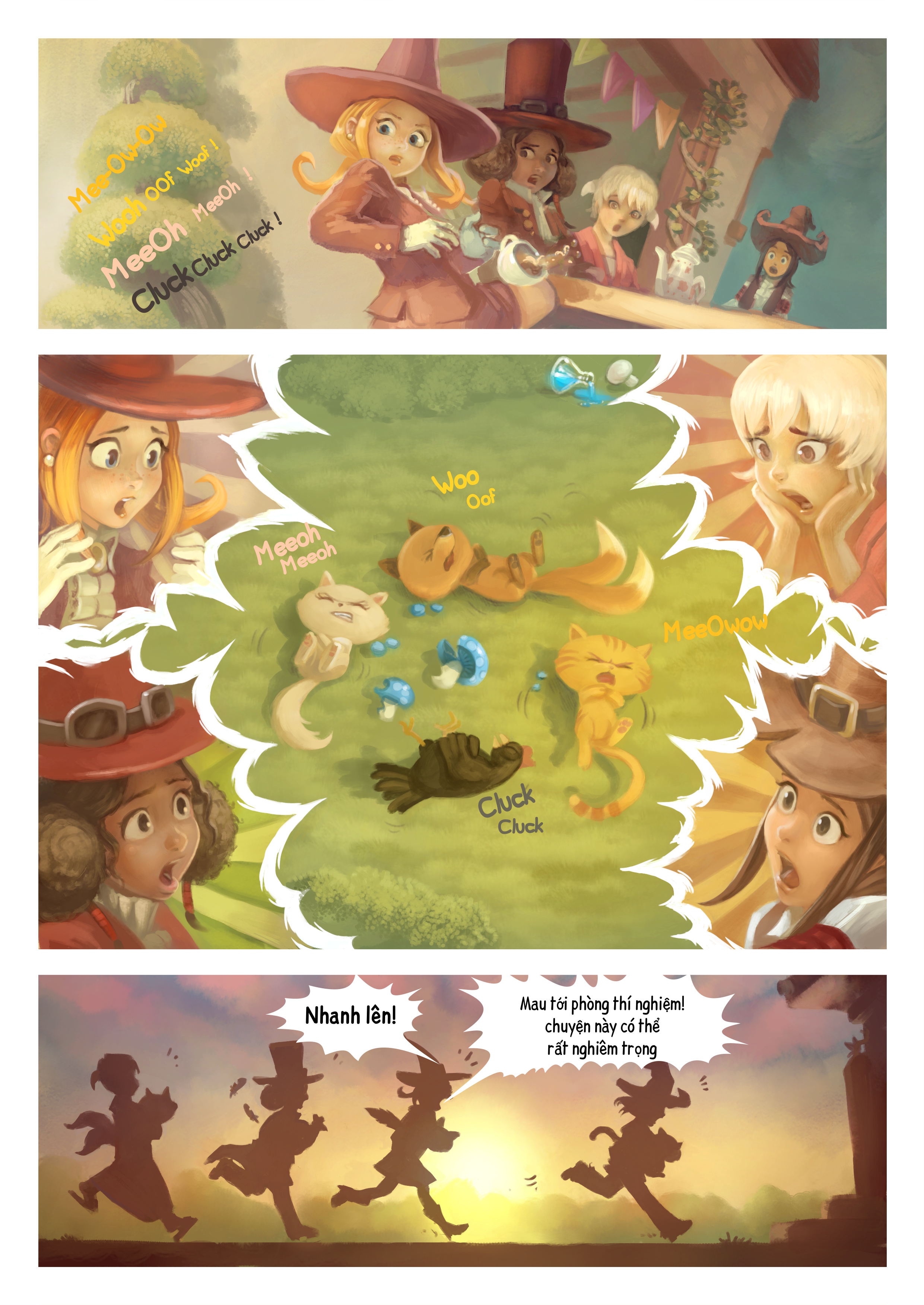 A webcomic page of Pepper&Carrot, Tập 9 [vi], trang 5