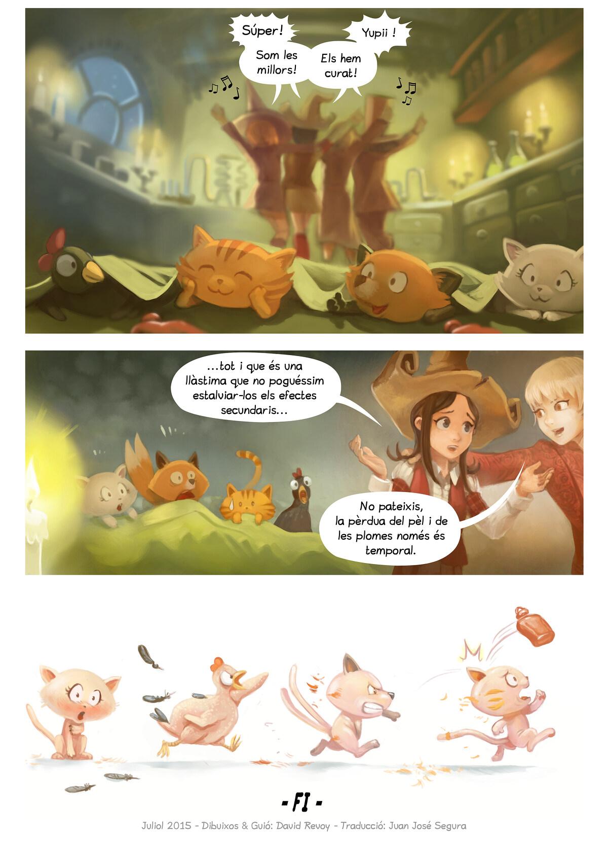 A webcomic page of Pepper&Carrot, episodi 9 [ca], pàgina 7