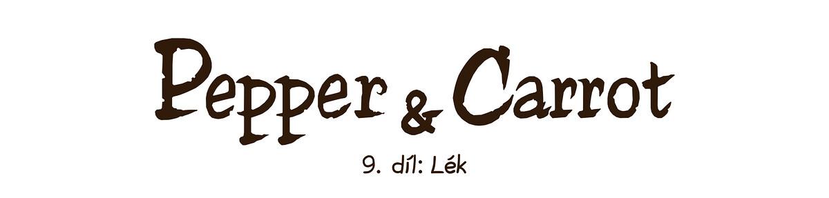 A webcomic page of Pepper&Carrot, epizoda 9 [cs], strana 0