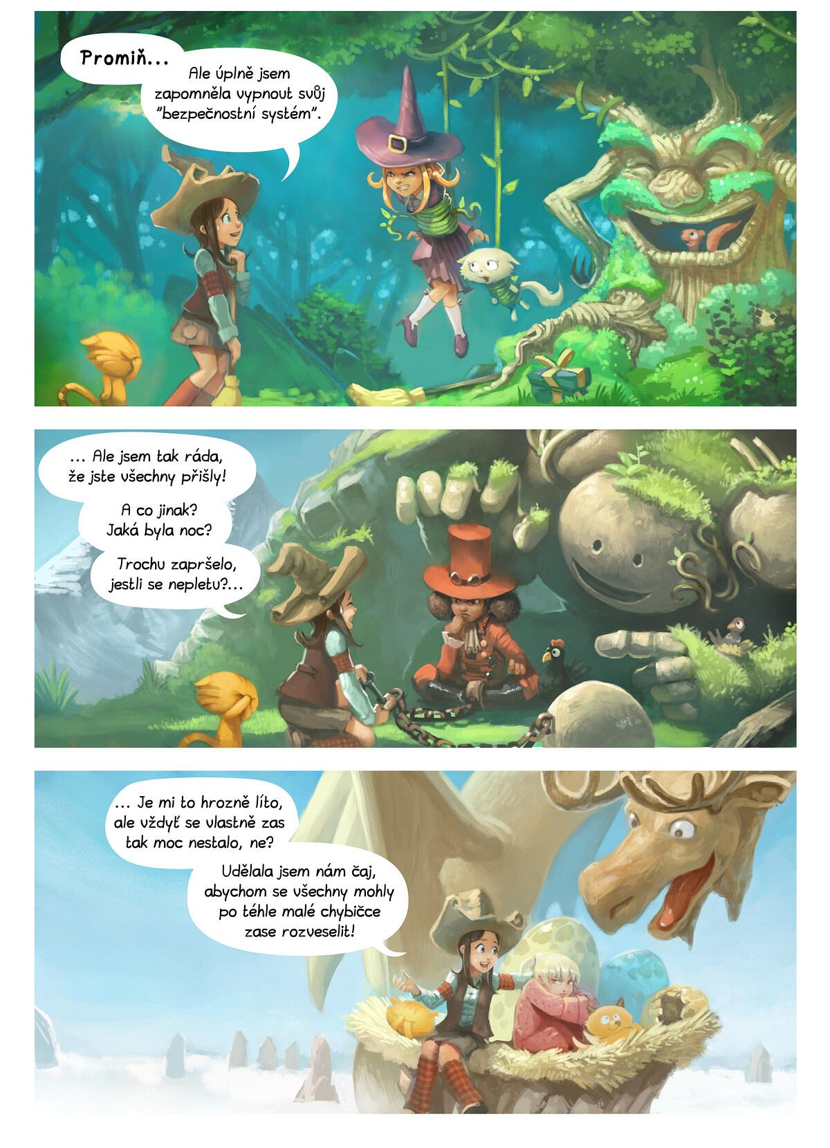 A webcomic page of Pepper&Carrot, epizoda 9 [cs], strana 2