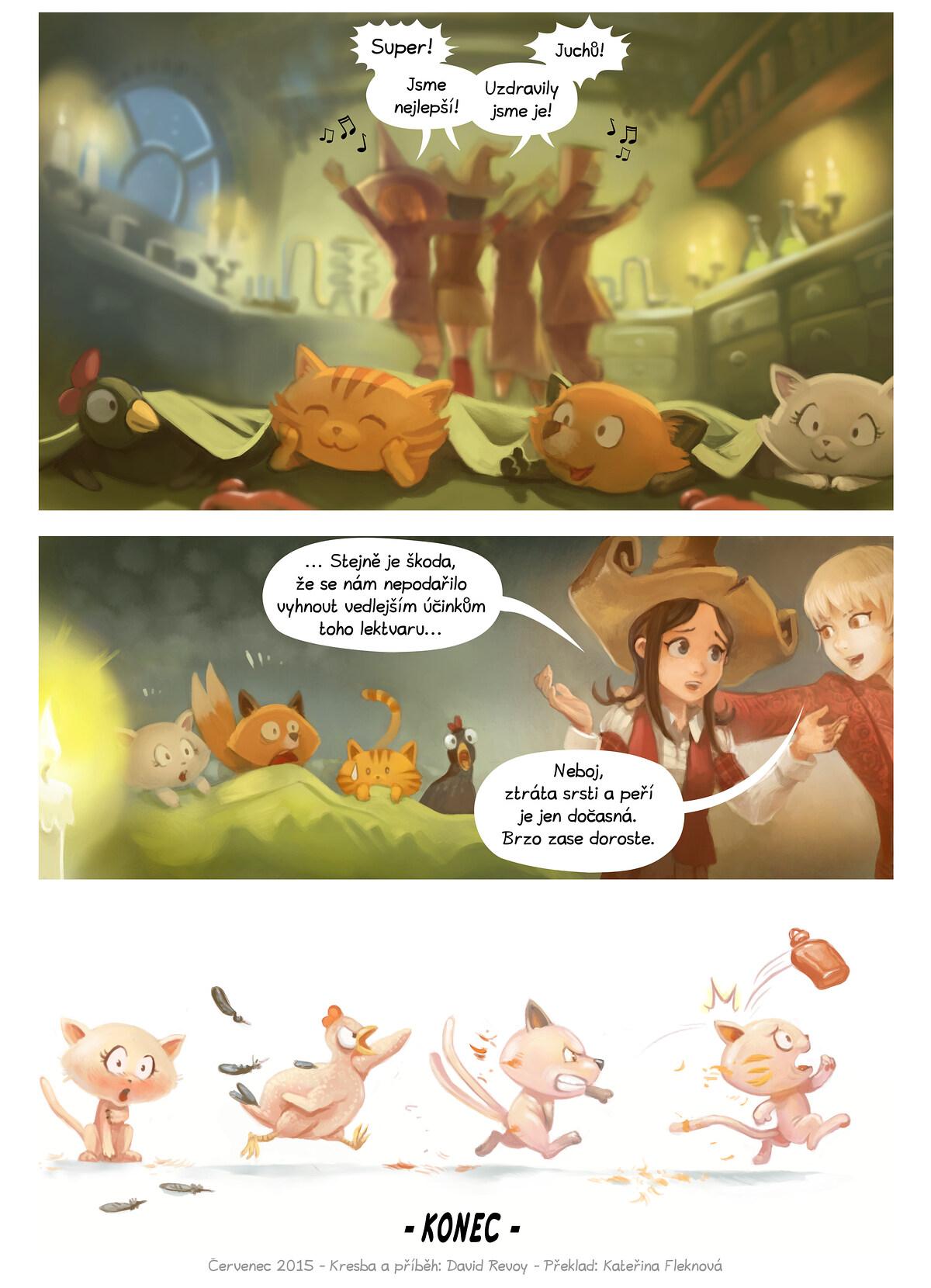 A webcomic page of Pepper&Carrot, epizoda 9 [cs], strana 7