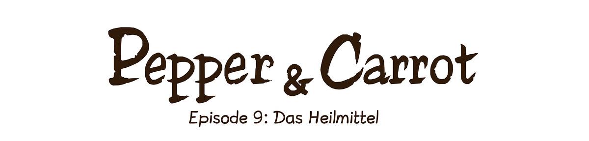 A webcomic page of Pepper&Carrot, Episode 9 [de], Seite 0
