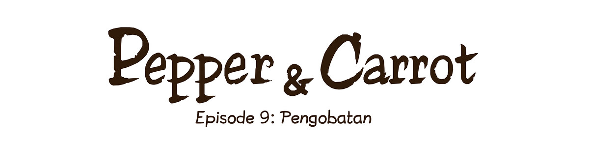 A webcomic page of Pepper&Carrot, episode 9 [id], halaman 0
