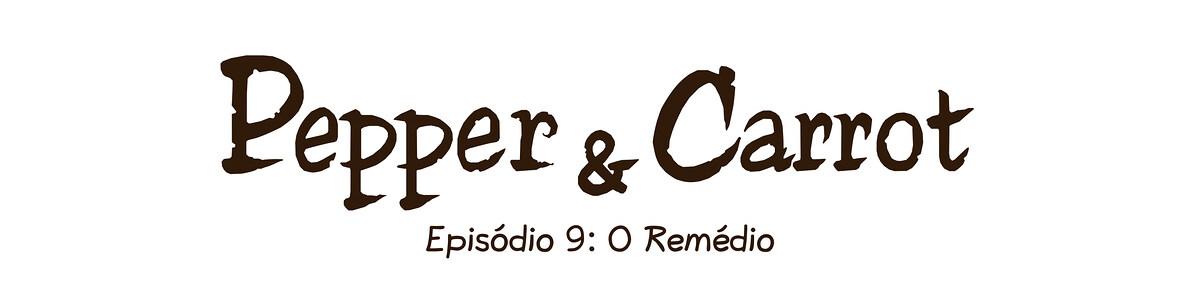 A webcomic page of Pepper&Carrot, episódio 9 [pt], página 0