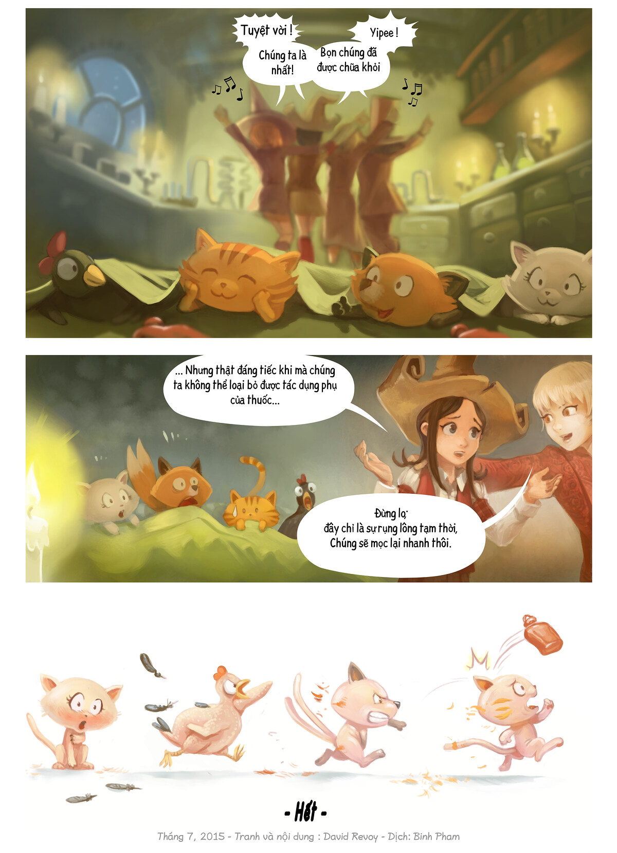 A webcomic page of Pepper&Carrot, Tập 9 [vi], trang 7