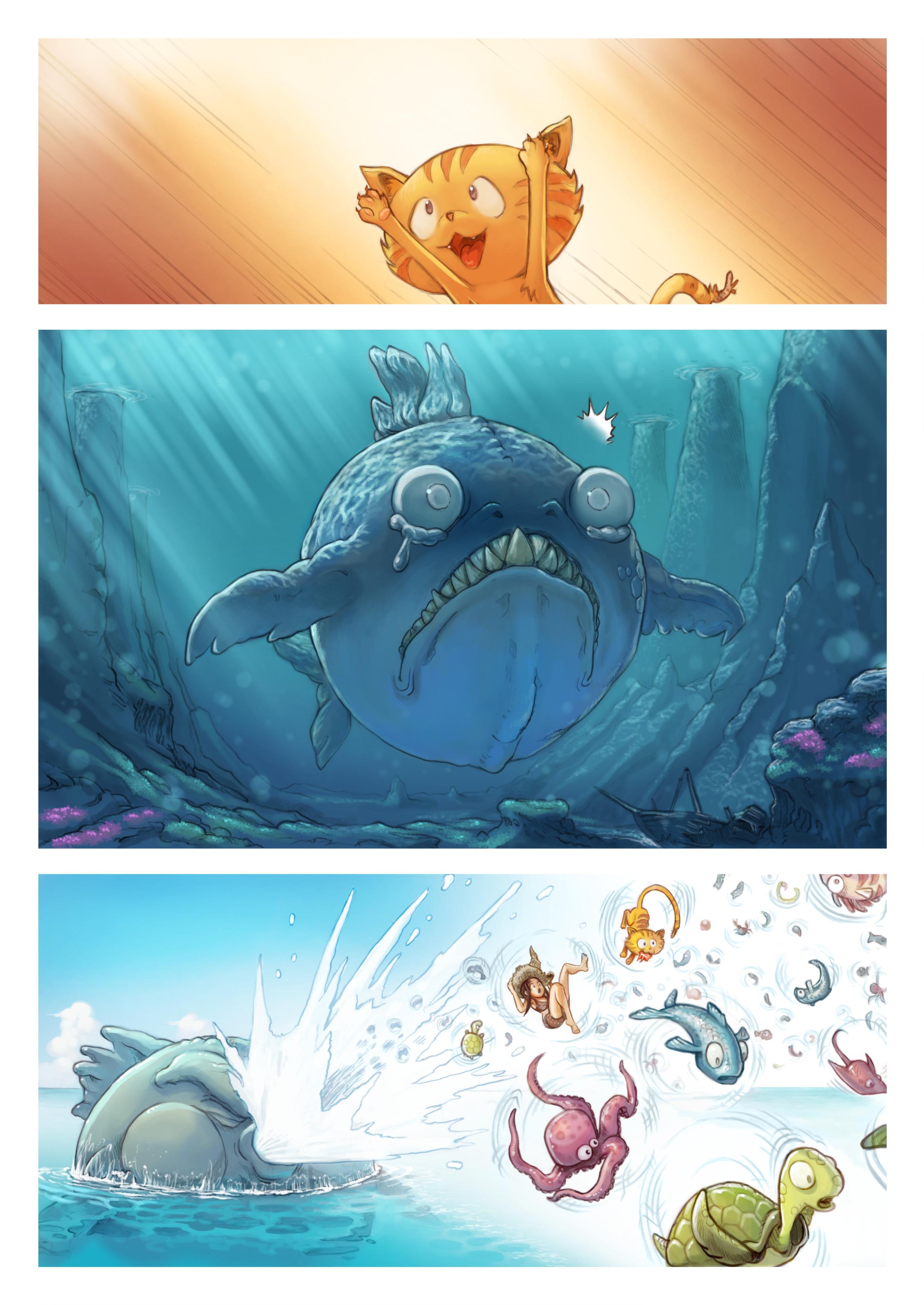 A webcomic page of Pepper&Carrot, rann 10 [br], pajenn 4