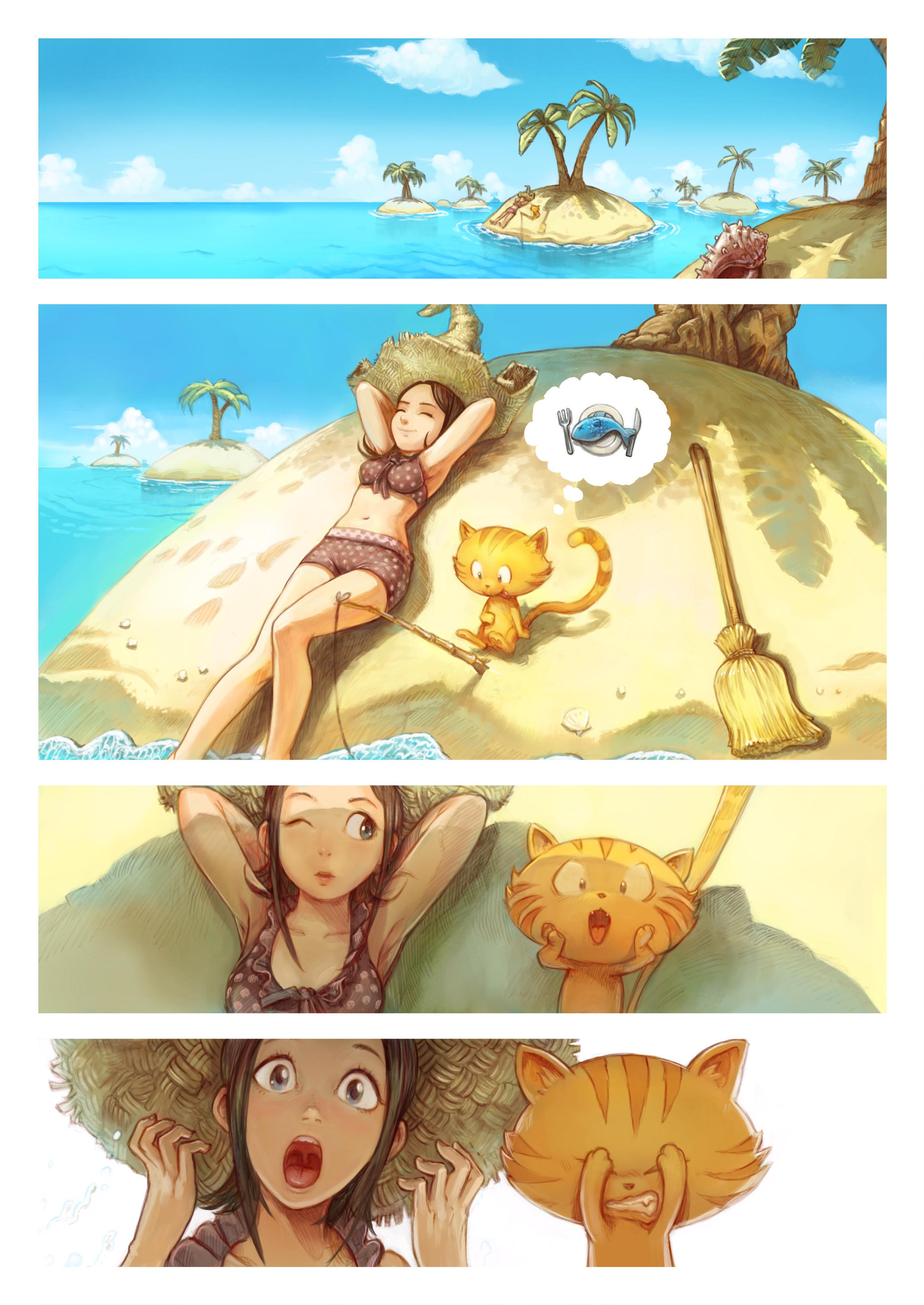قسمت دهم: قسمت مخصوص تابستان, Page 1