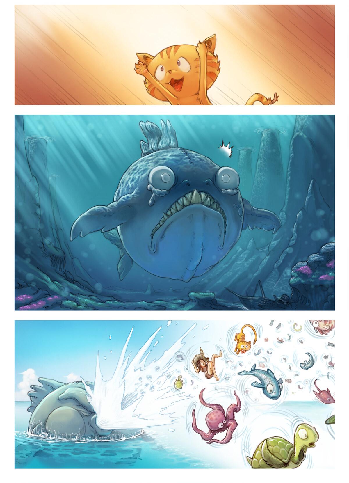 A webcomic page of Pepper&Carrot, rakonto 10 [eo], paĝo 4