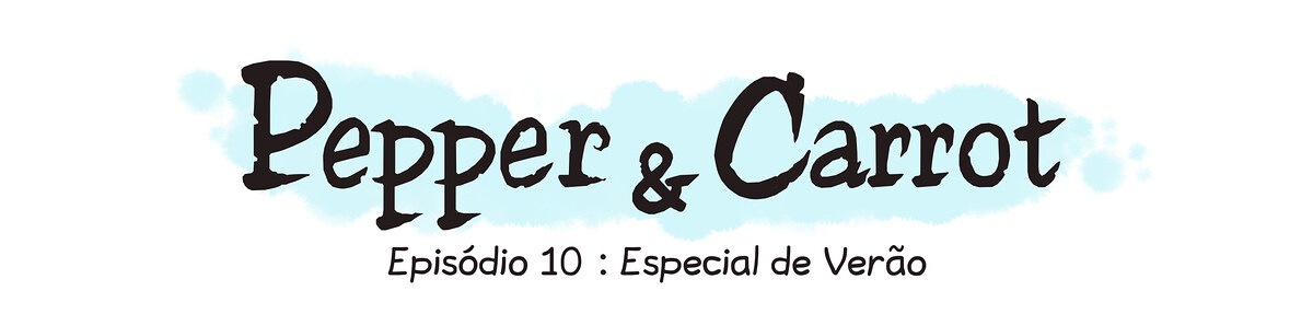A webcomic page of Pepper&Carrot, episódio 10 [pt], página 0