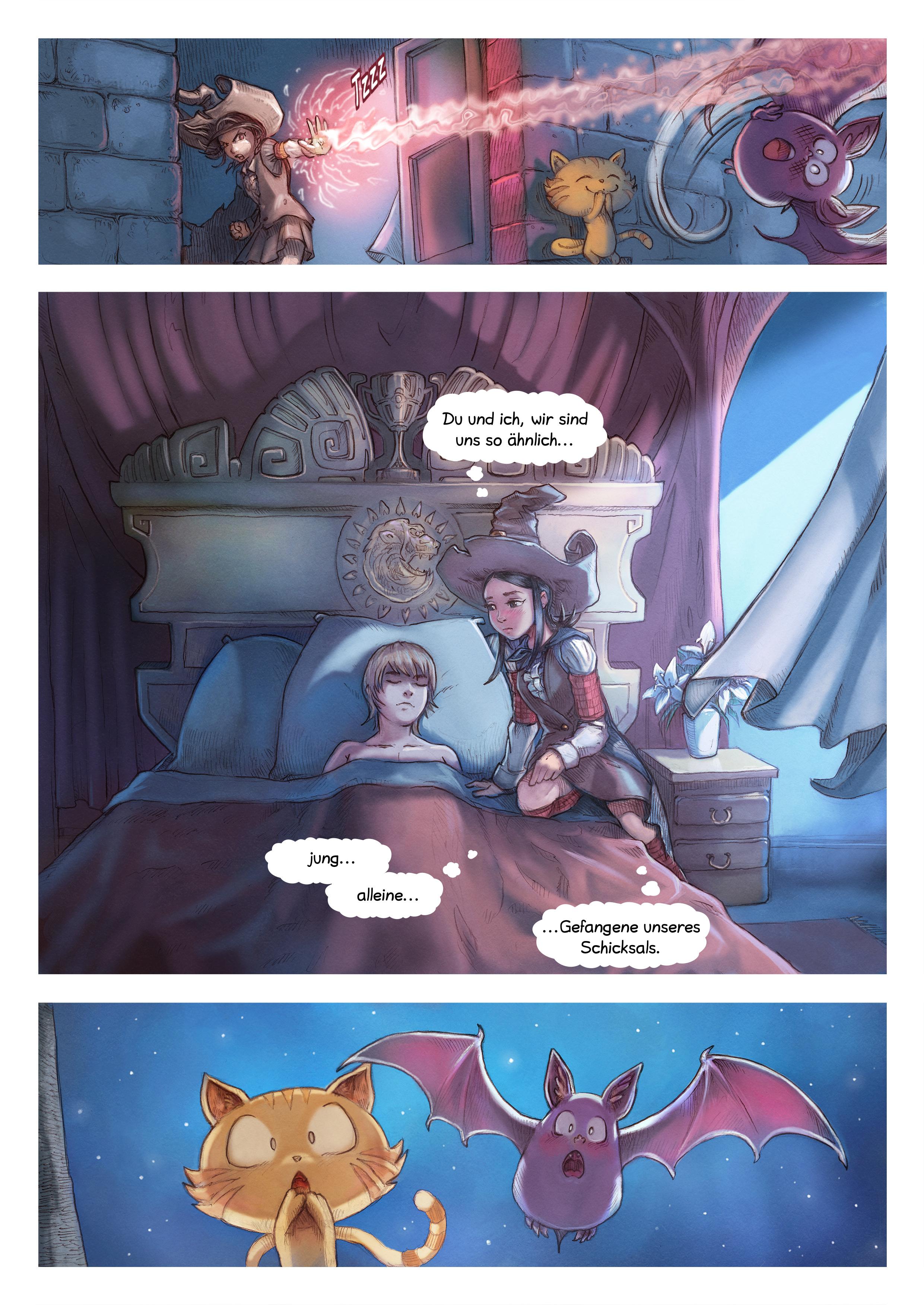A webcomic page of Pepper&Carrot, Episode 11 [de], Seite 5