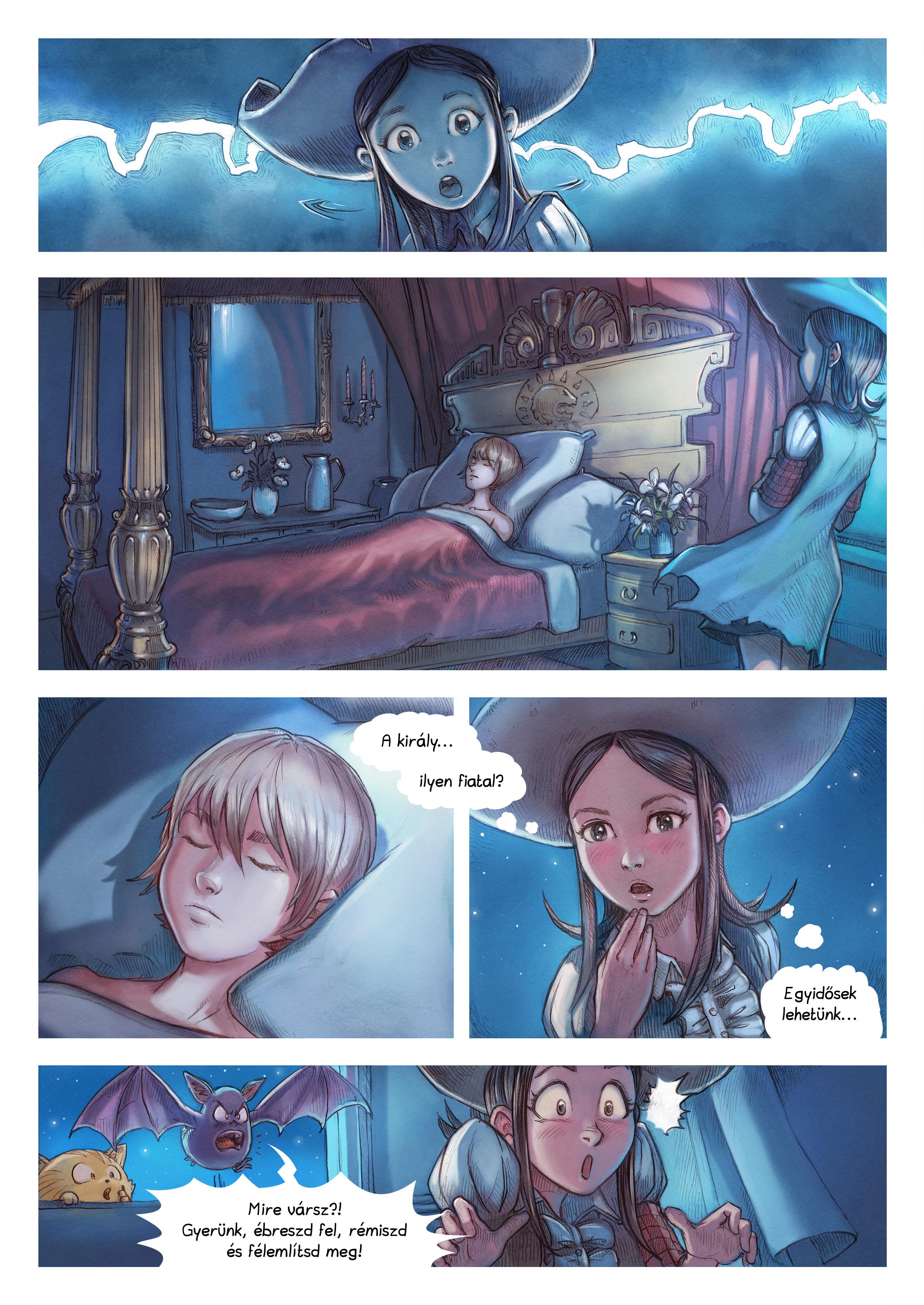 A webcomic page of Pepper&Carrot, epizód 11 [hu], oldal 4