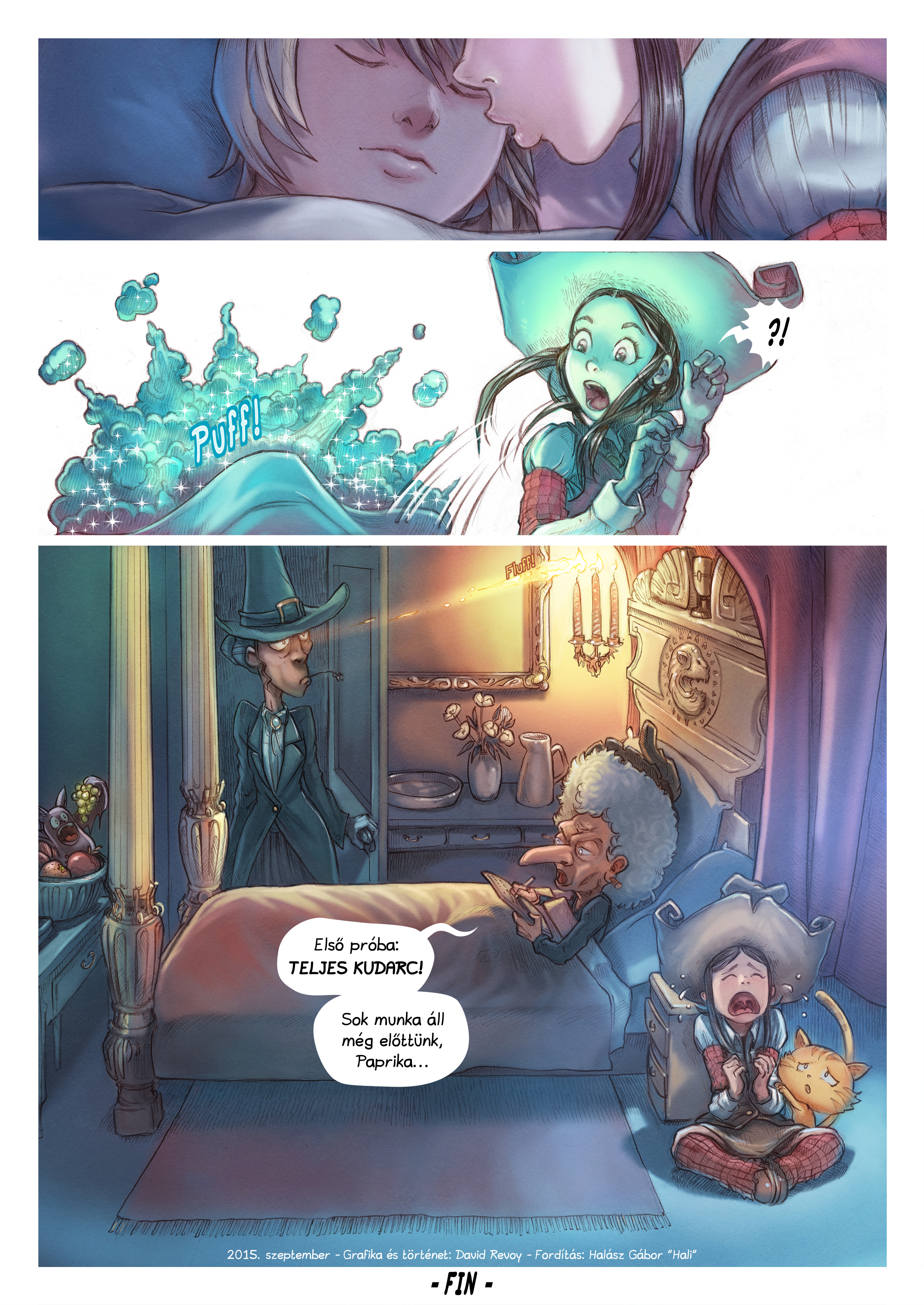 A webcomic page of Pepper&Carrot, epizód 11 [hu], oldal 6