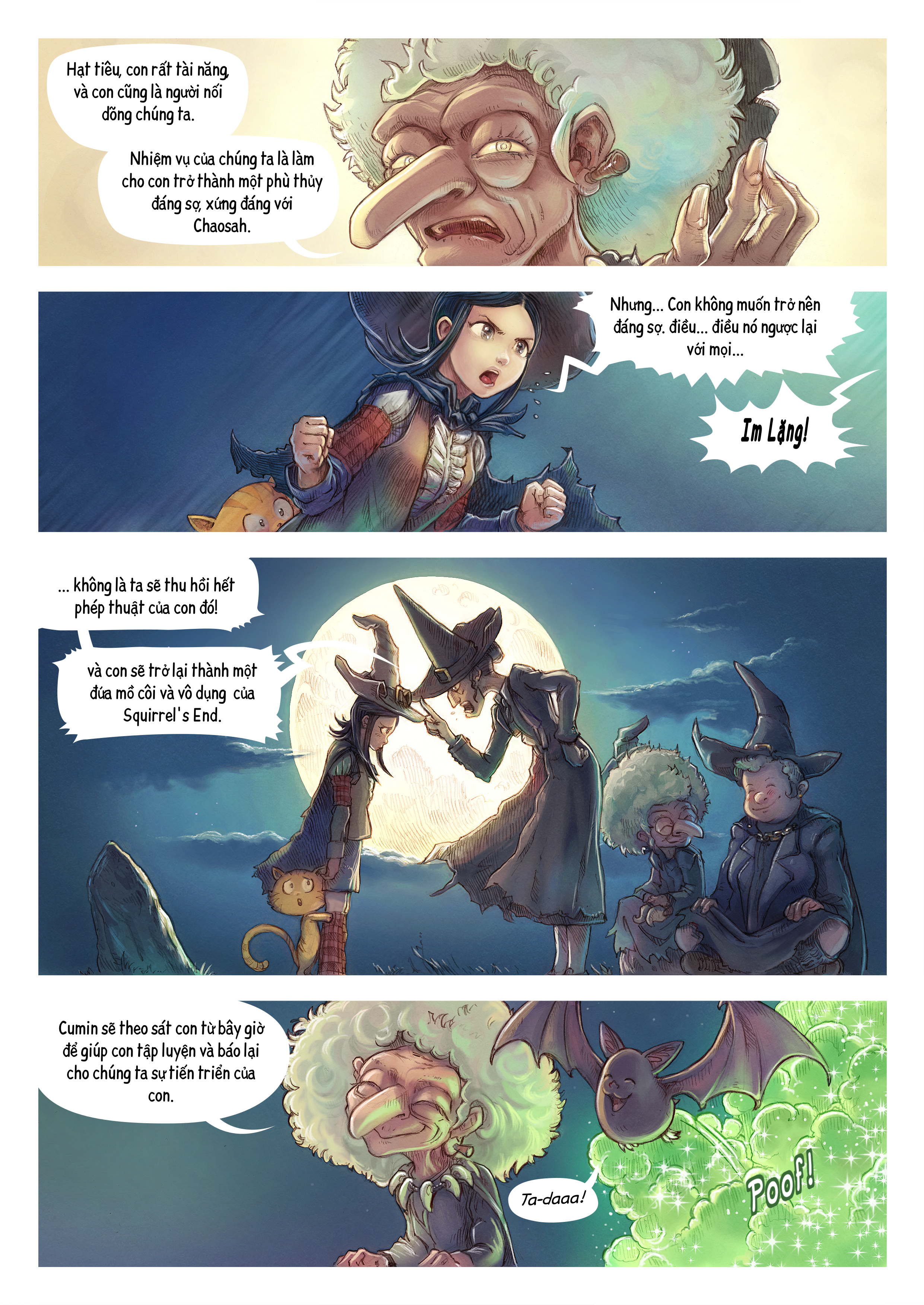 A webcomic page of Pepper&Carrot, Tập 11 [vi], trang 2