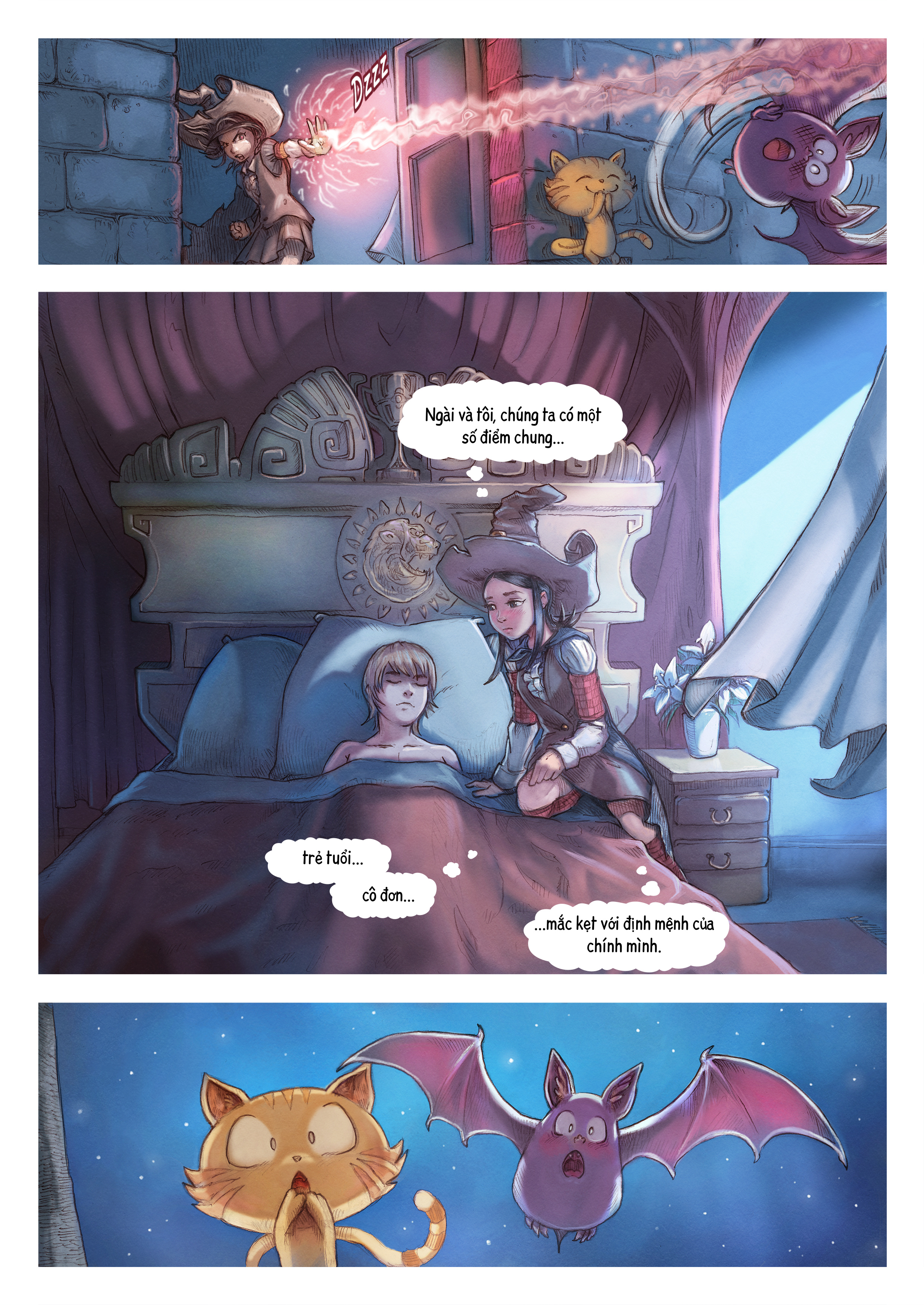 A webcomic page of Pepper&Carrot, Tập 11 [vi], trang 5