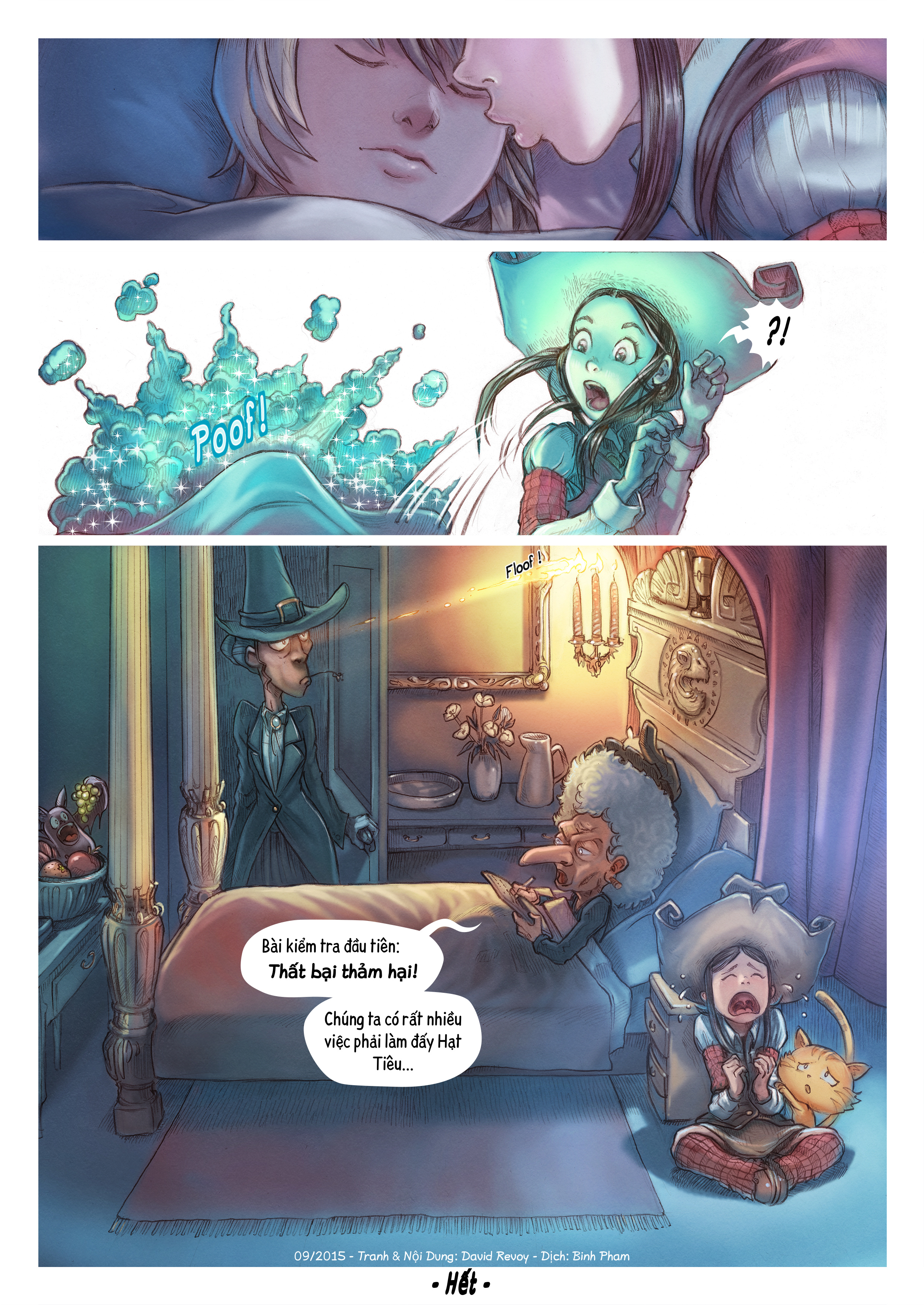 A webcomic page of Pepper&Carrot, Tập 11 [vi], trang 6