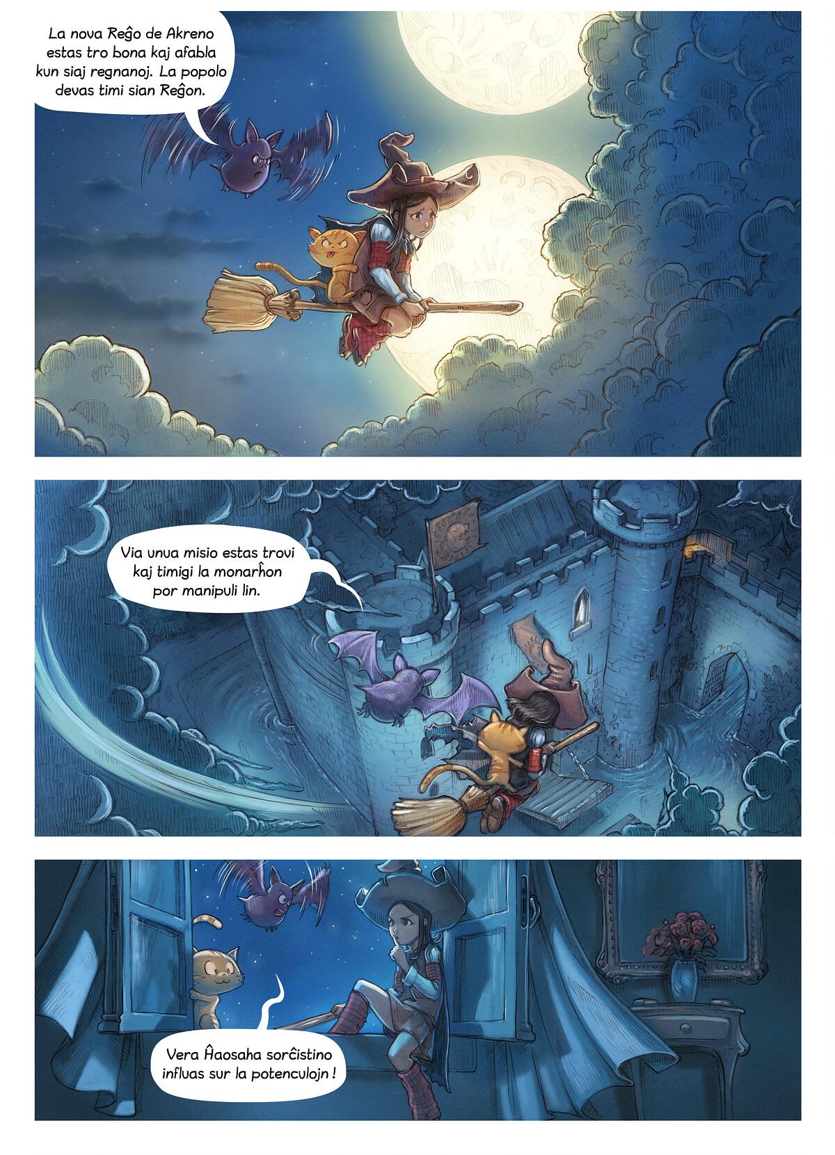 A webcomic page of Pepper&Carrot, rakonto 11 [eo], paĝo 3