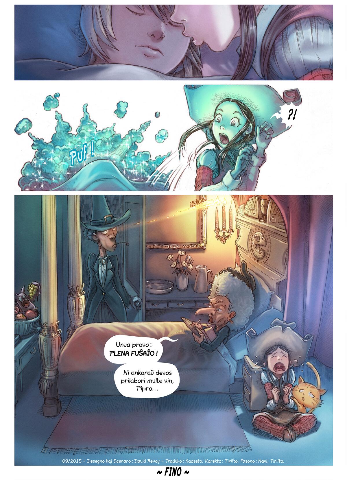 A webcomic page of Pepper&Carrot, rakonto 11 [eo], paĝo 6