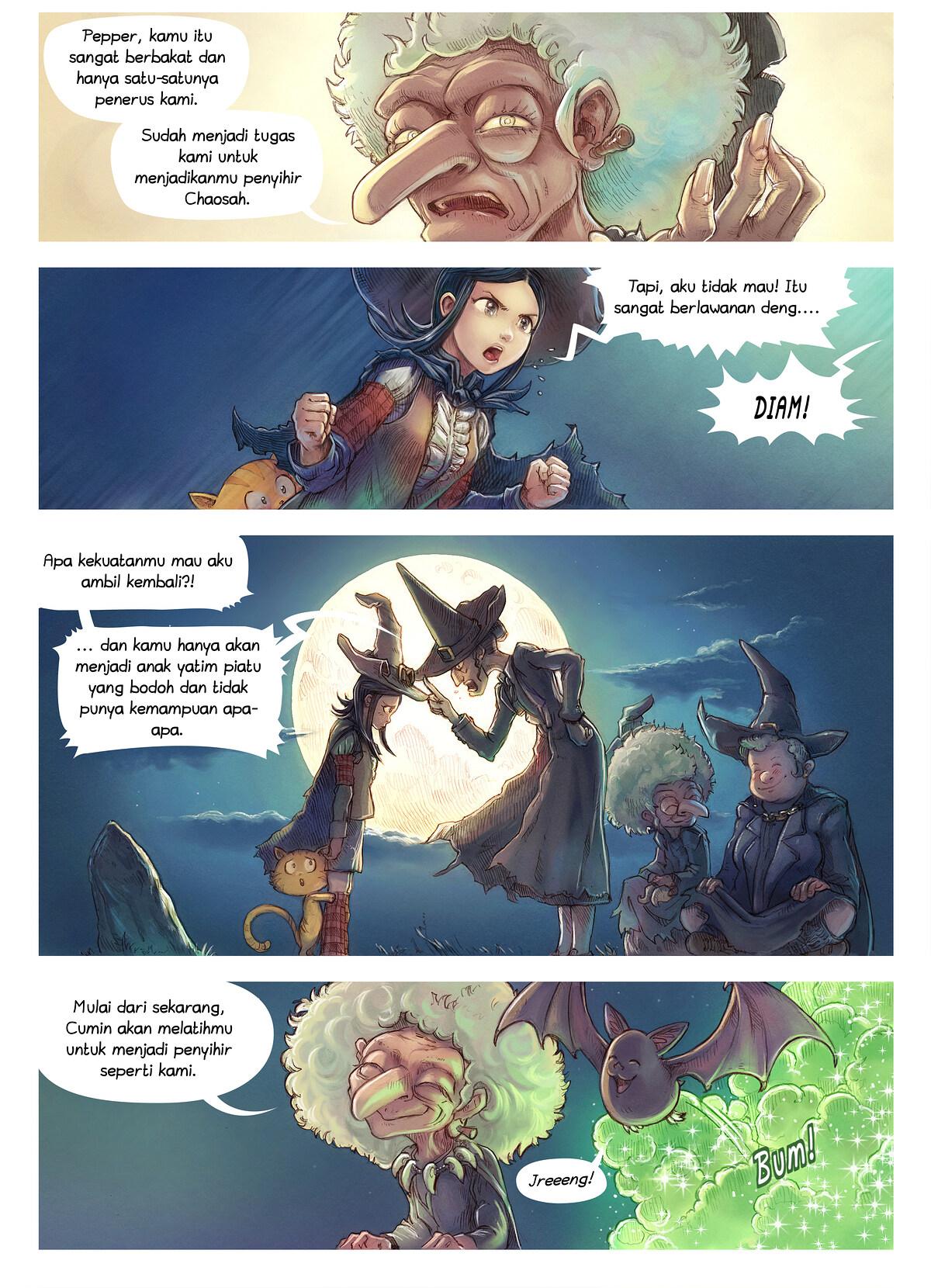 Episode 11: Penyihir Chaosah, Page 2