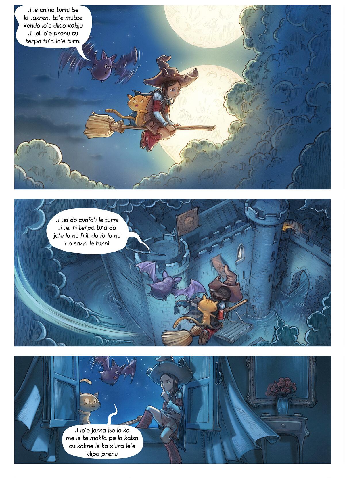 i 11 mo'o lisri le te makfa pe la kalsa, Page 3