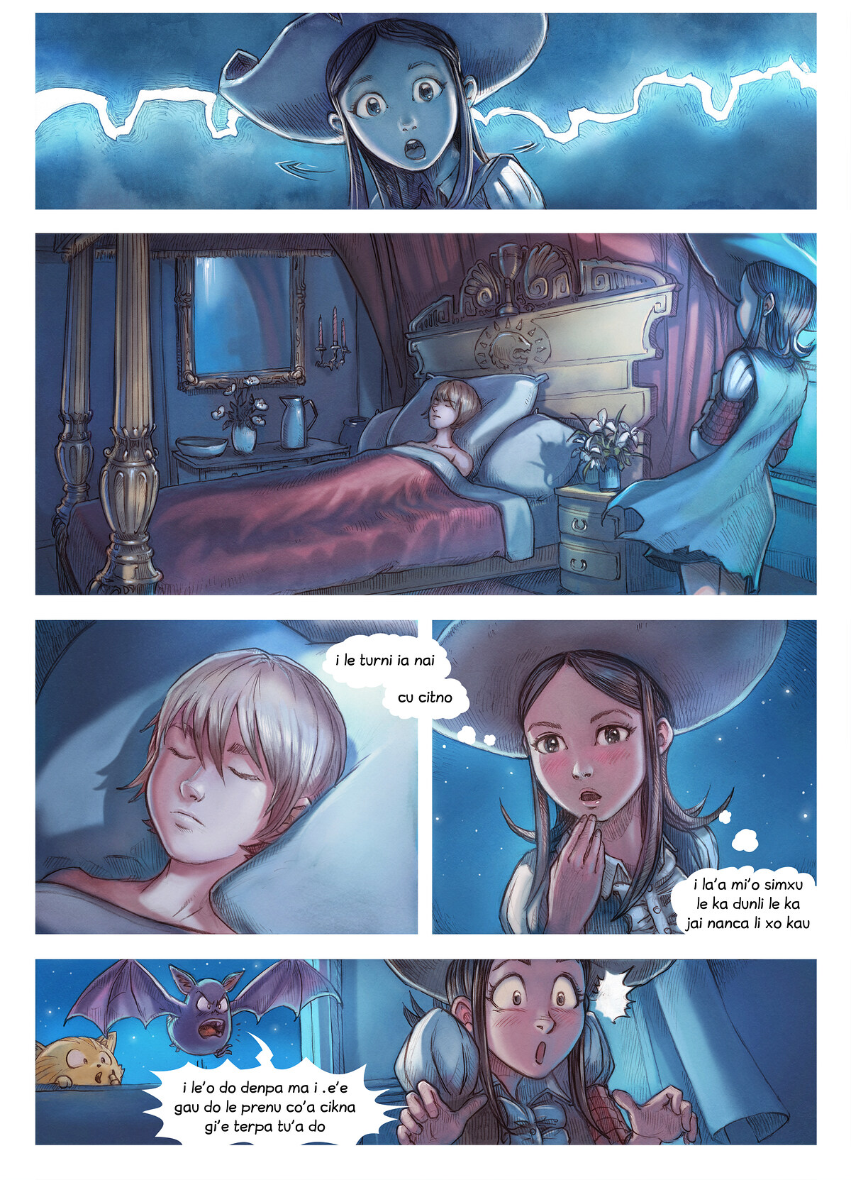 i 11 mo'o lisri le te makfa pe la kalsa, Page 4
