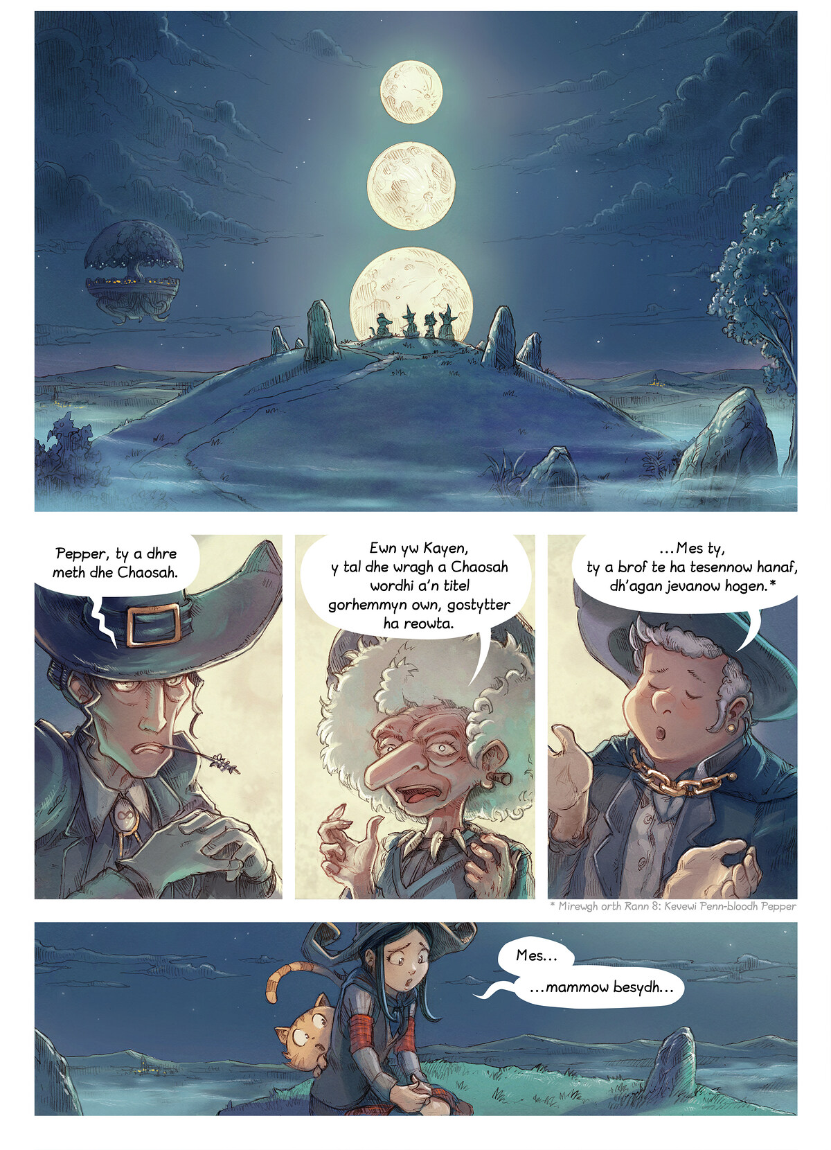 Rann 11: An Gwraghes a Chaosah, Page 1